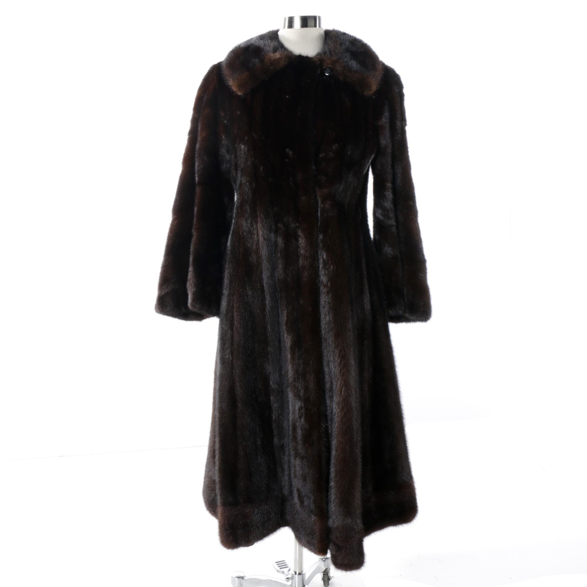 Koslowizing Mink Fur Princess Coat