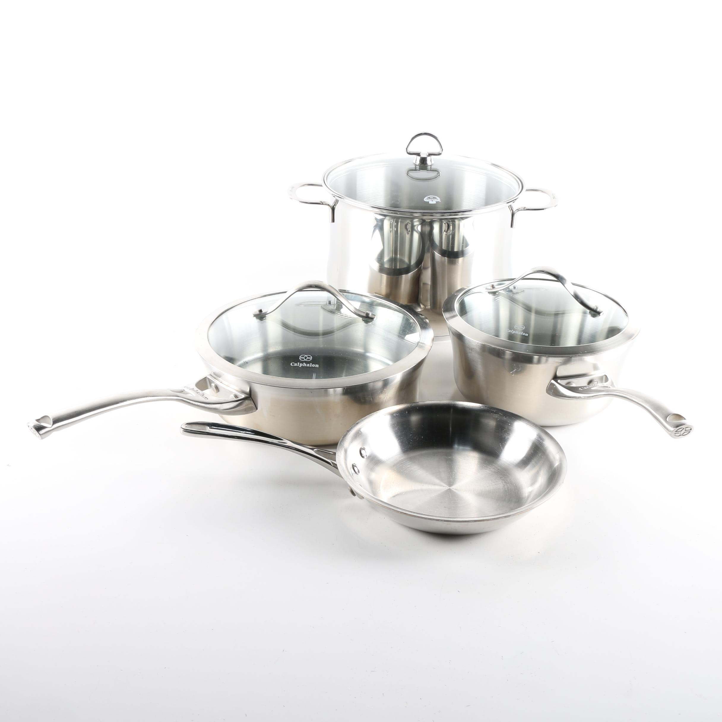 Calphalon and Chantal Stainless Steel Cookware