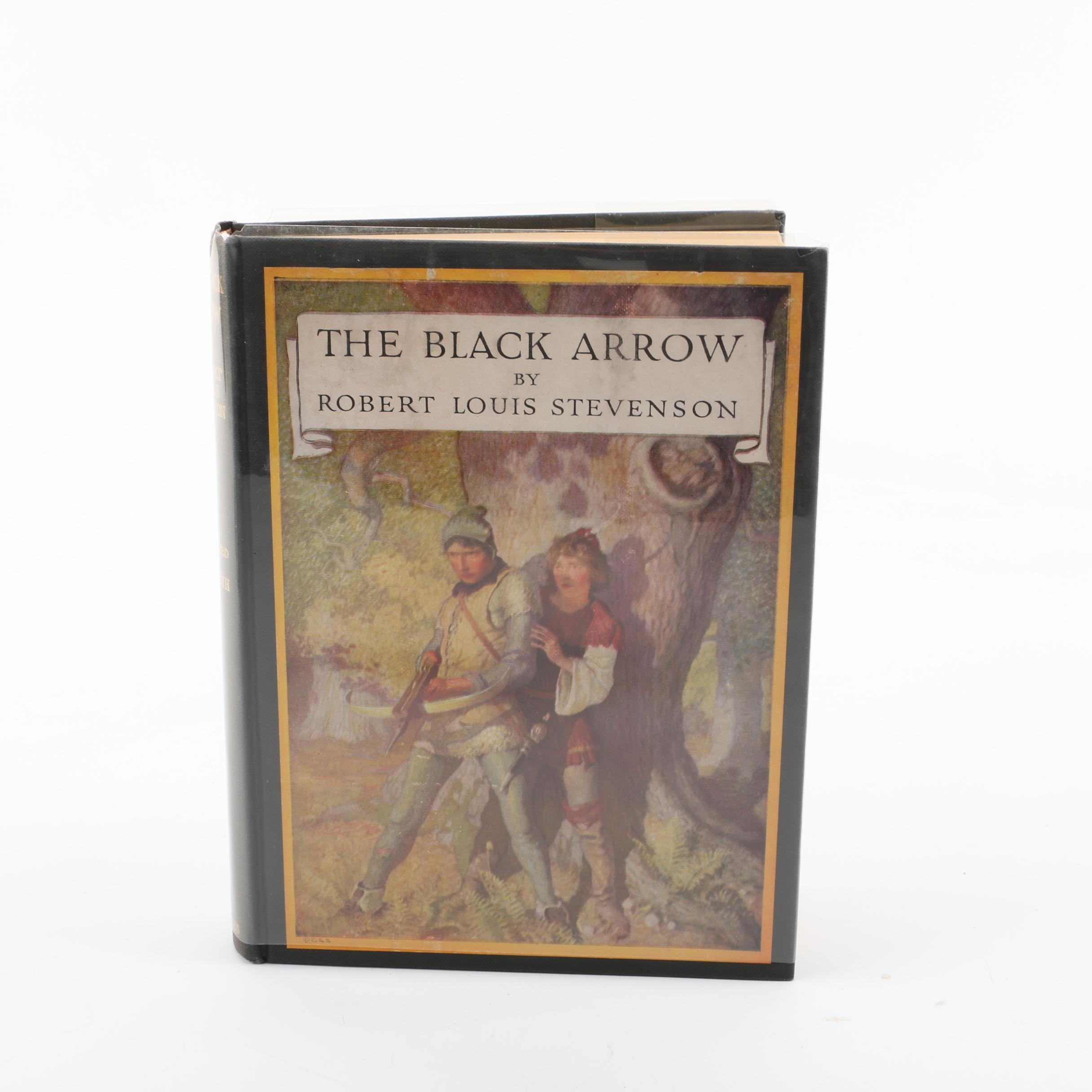 """1954 Classics Illustrated Edition of """"The Black Arrow"""" by Robert Louis Stevenson"""