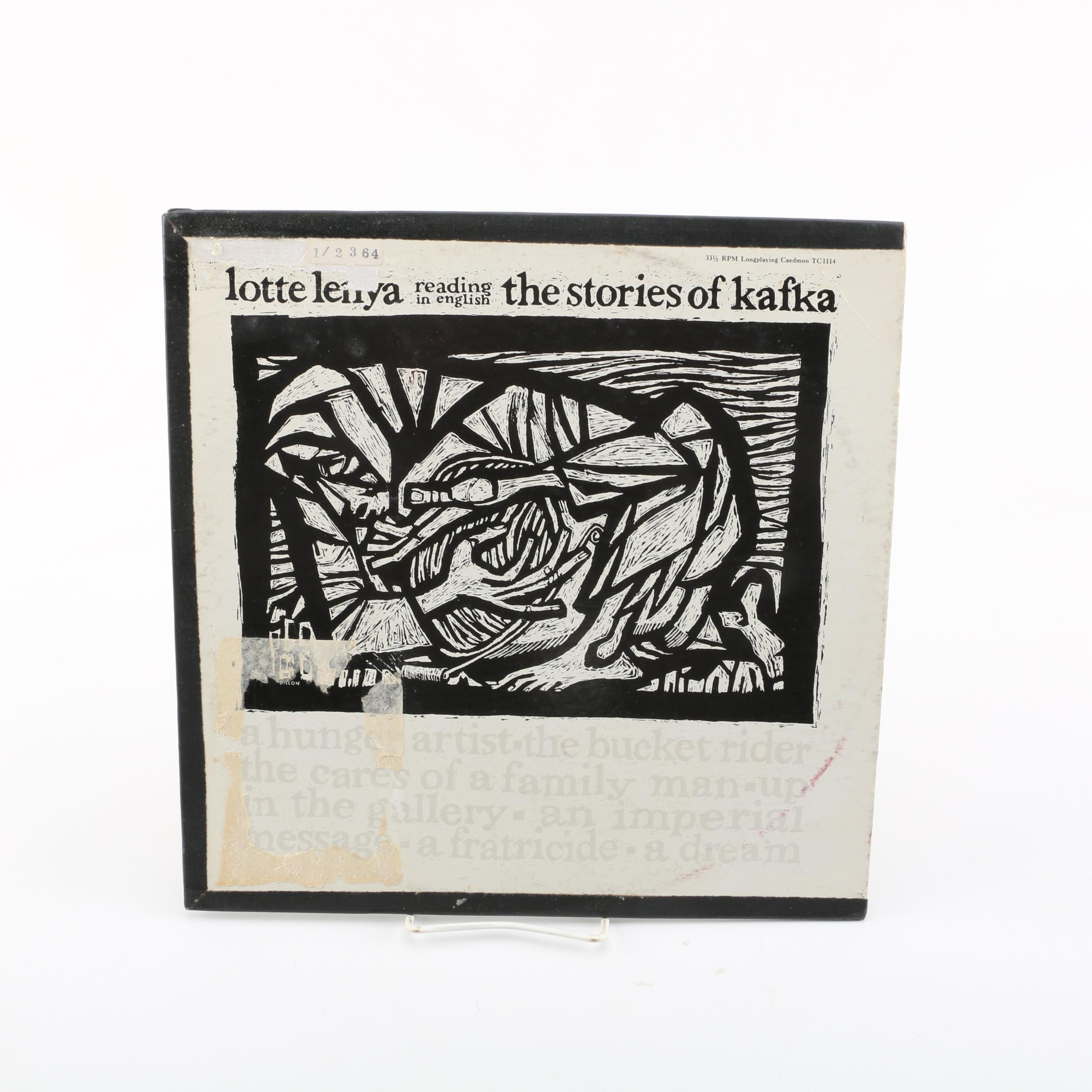 "Caedmon ""The Stories of Kafka"" Record Album"