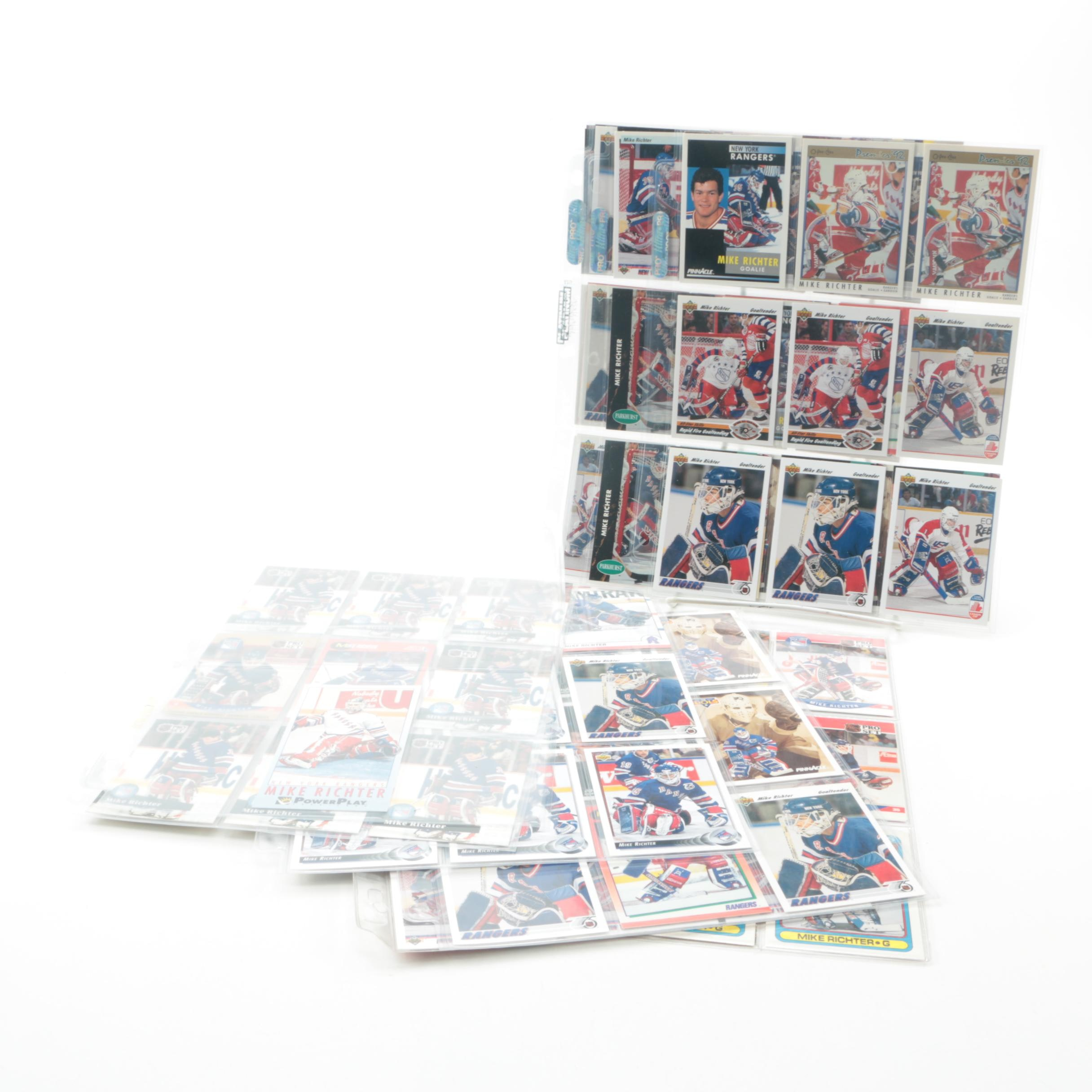 Mike Richter Hockey and Rookie Cards