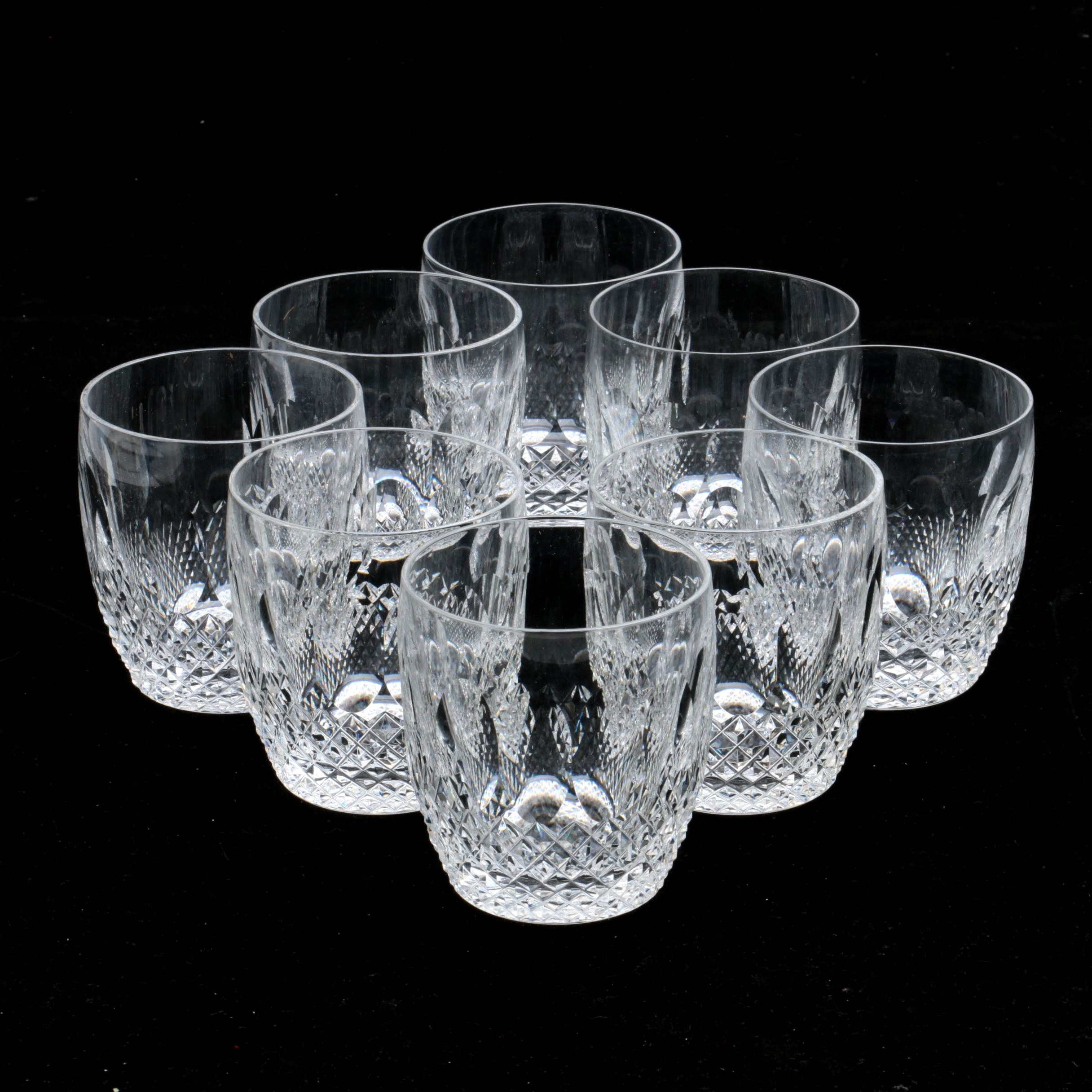 "Waterford Crystal ""Colleen"" Flat Tumblers"