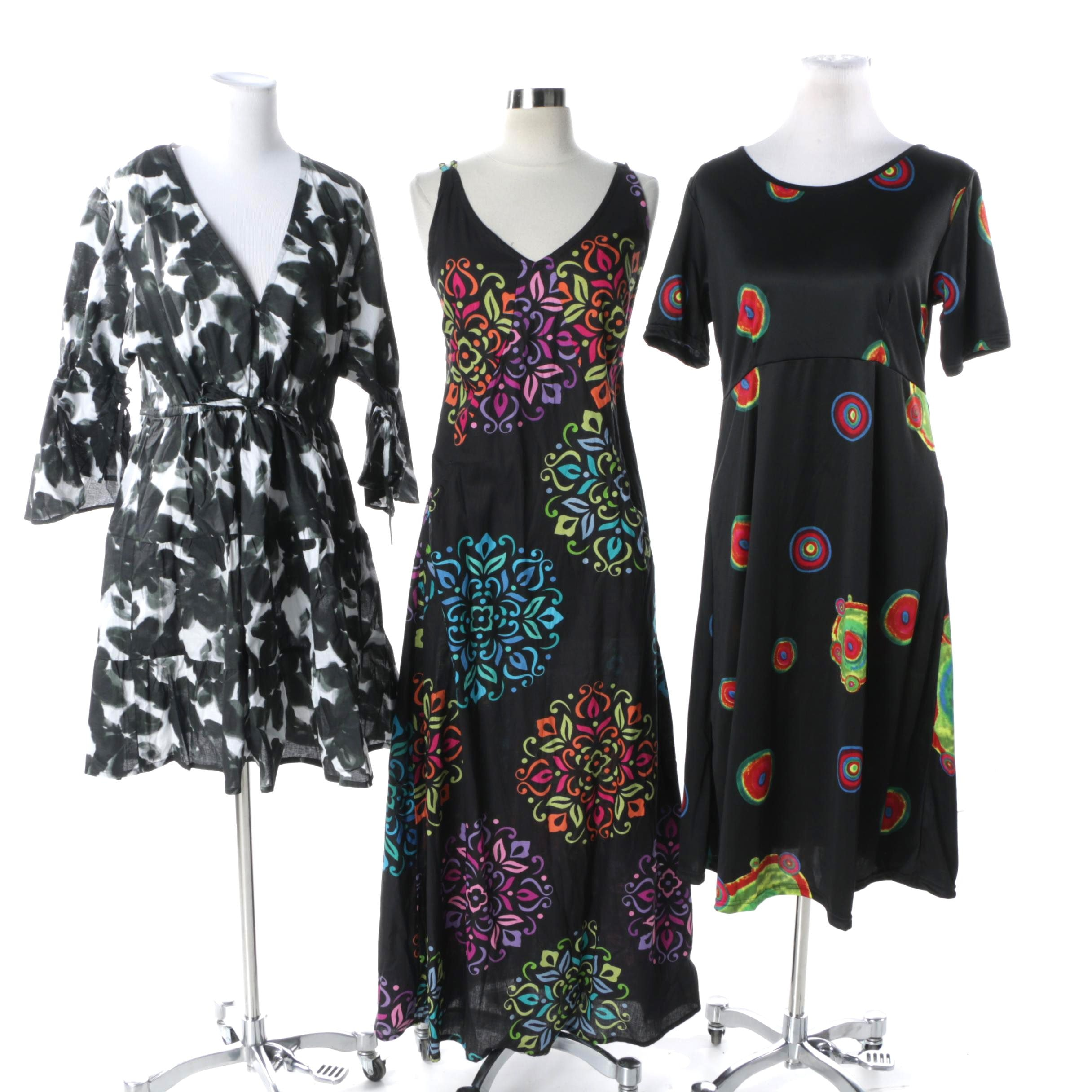 Aller Simplement Size L Dresses and Tunic