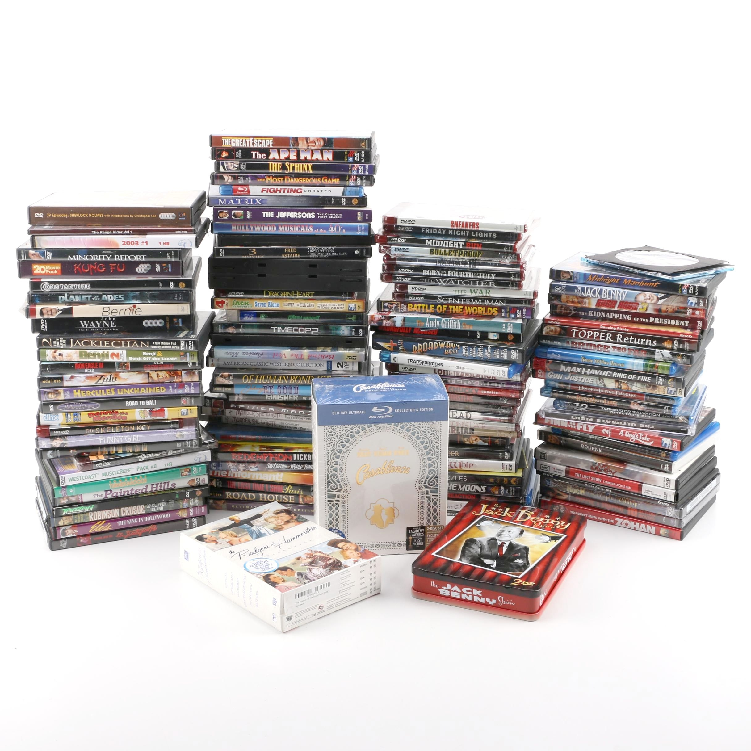 Casablanca Collector's Edition, Other Blu-ray Discs and DVDs