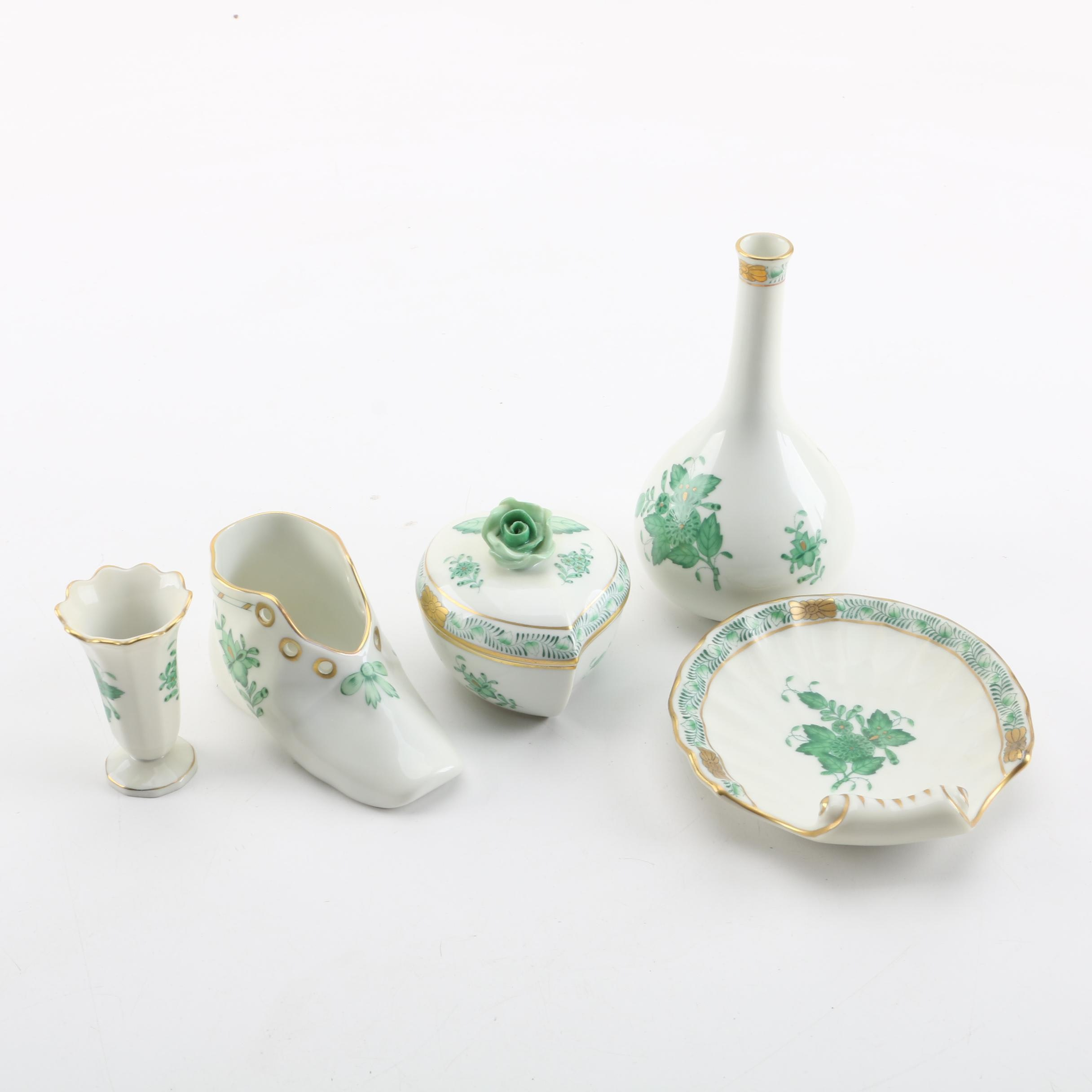 "Herend Hungary ""Chinese Bouquet"" Porcelain"