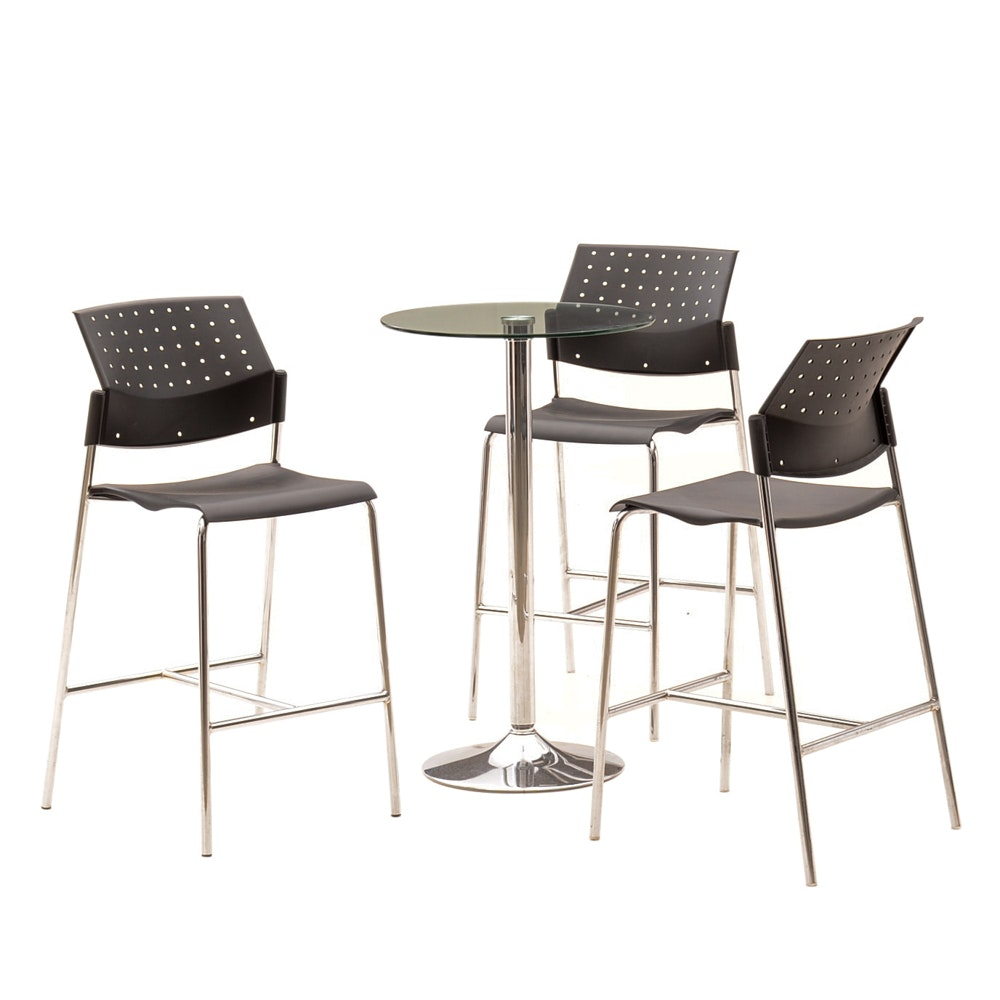 Modernist Table and Stools