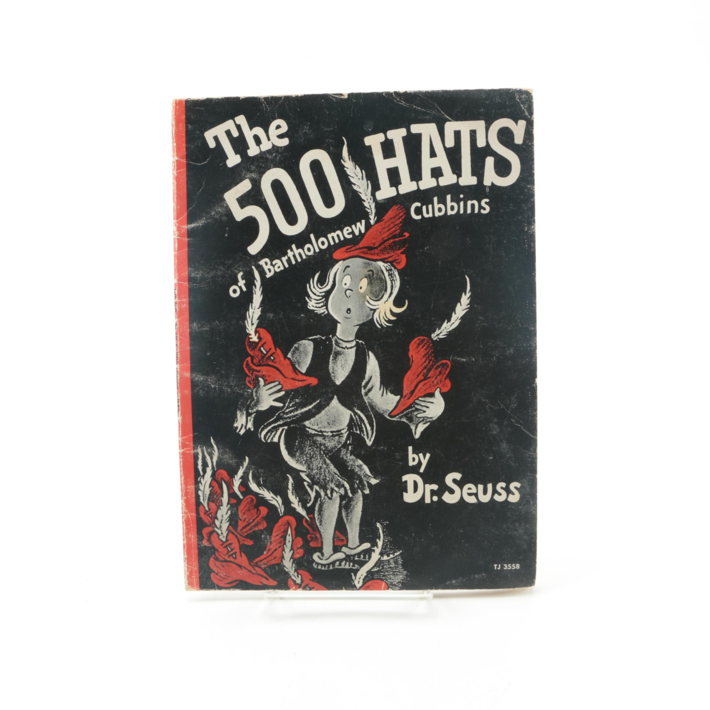 """1966 """"The 500 Hats of Bartholomew Cubbins"""" by Dr. Seuss"""