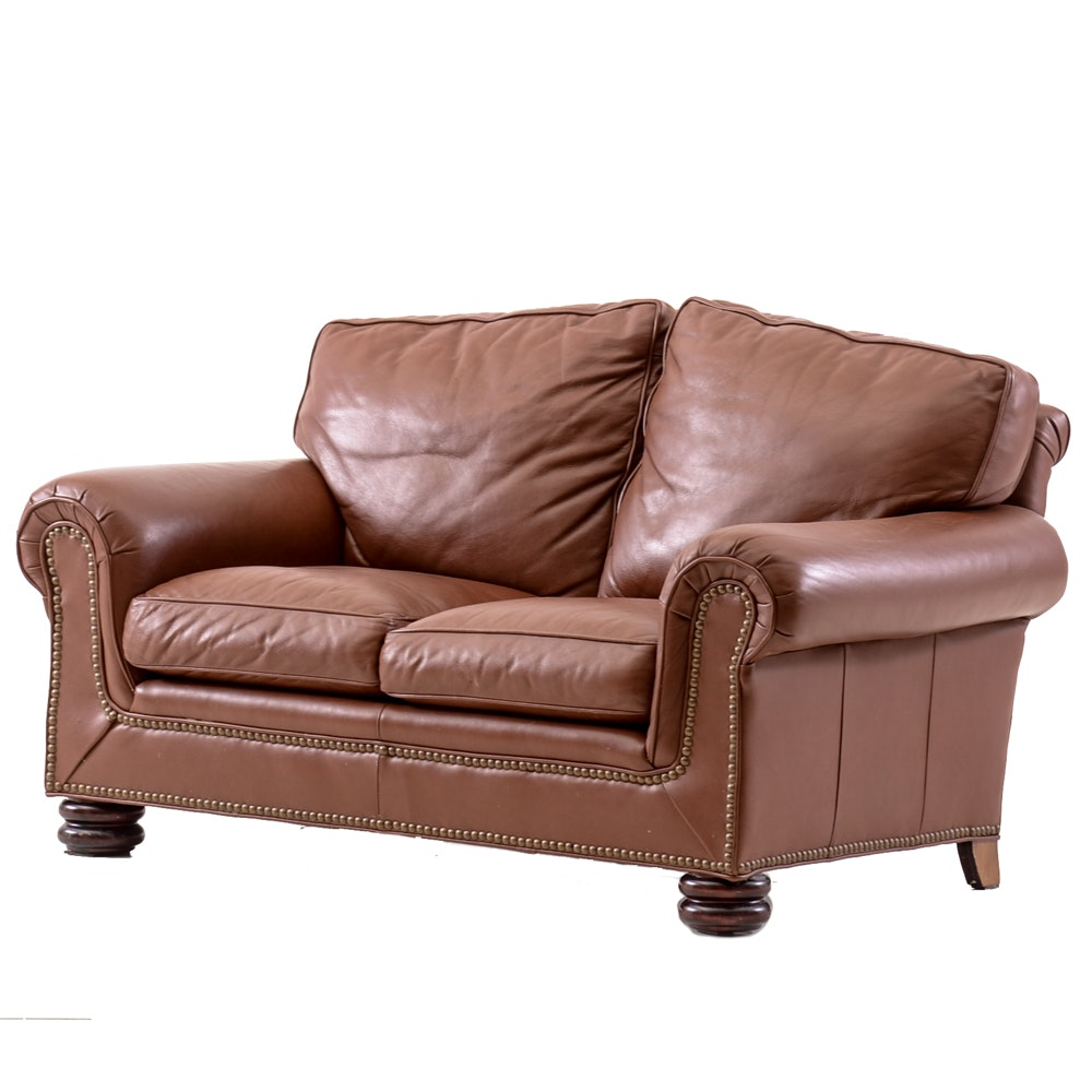 Leather Loveseat by Classic Leather