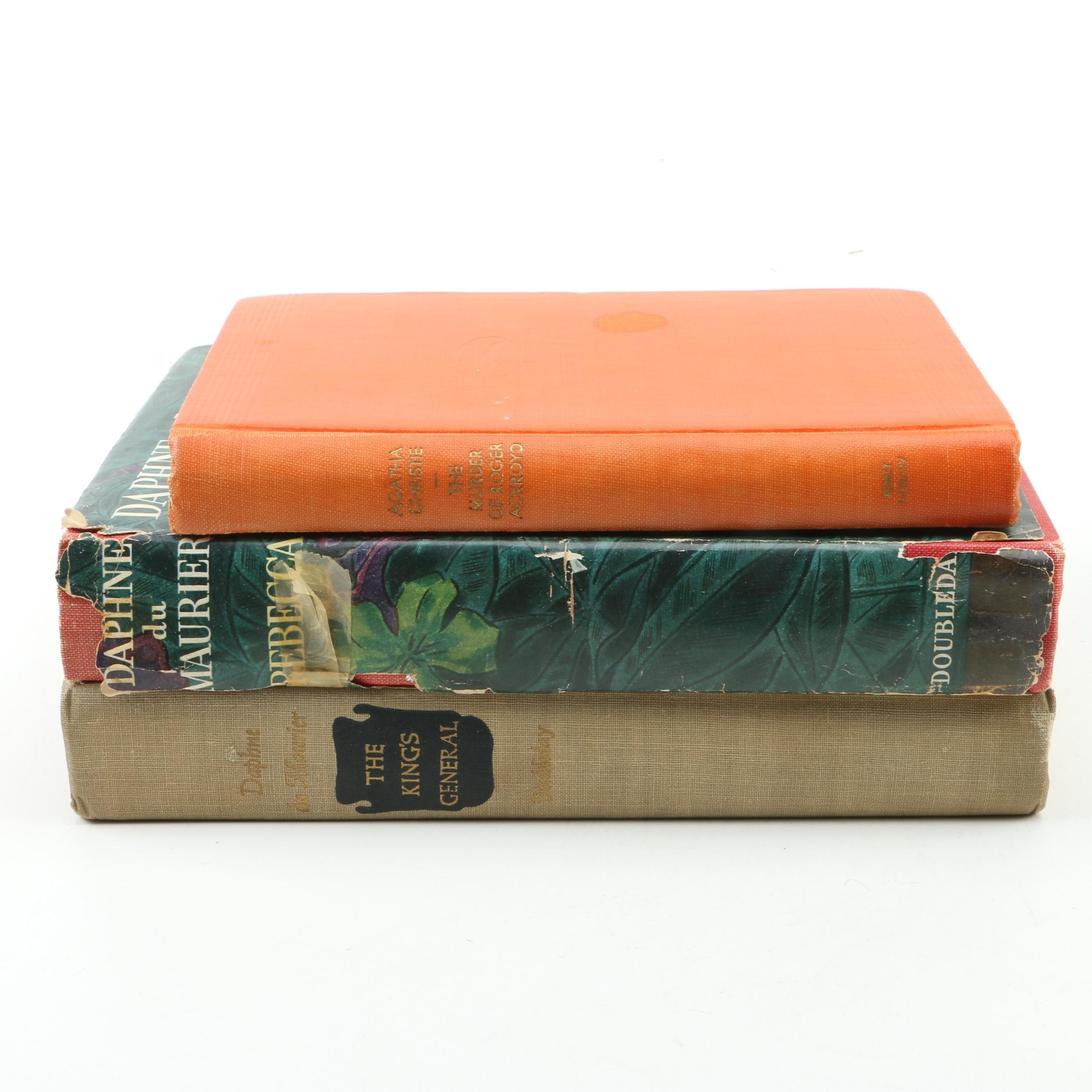 "Books Including ""Rebecca"" by Daphne du Maurier"