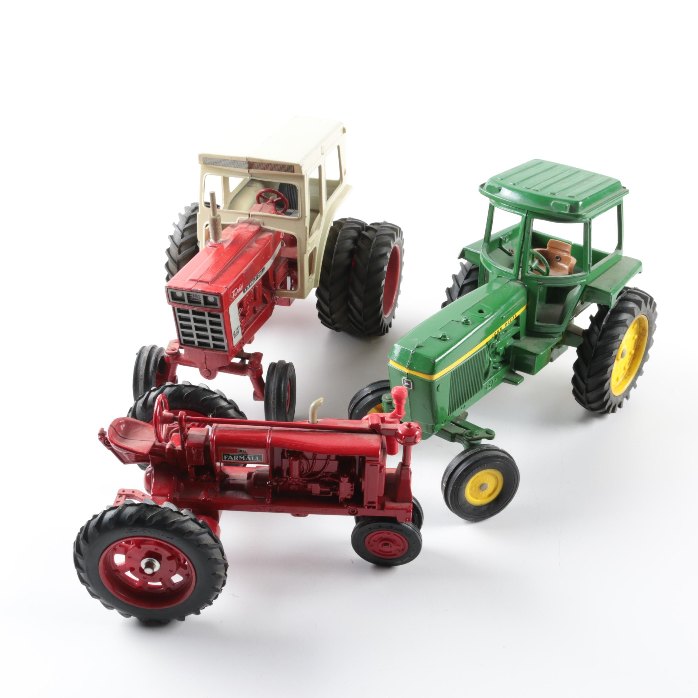 Die-Cast Tractors Including Ertl