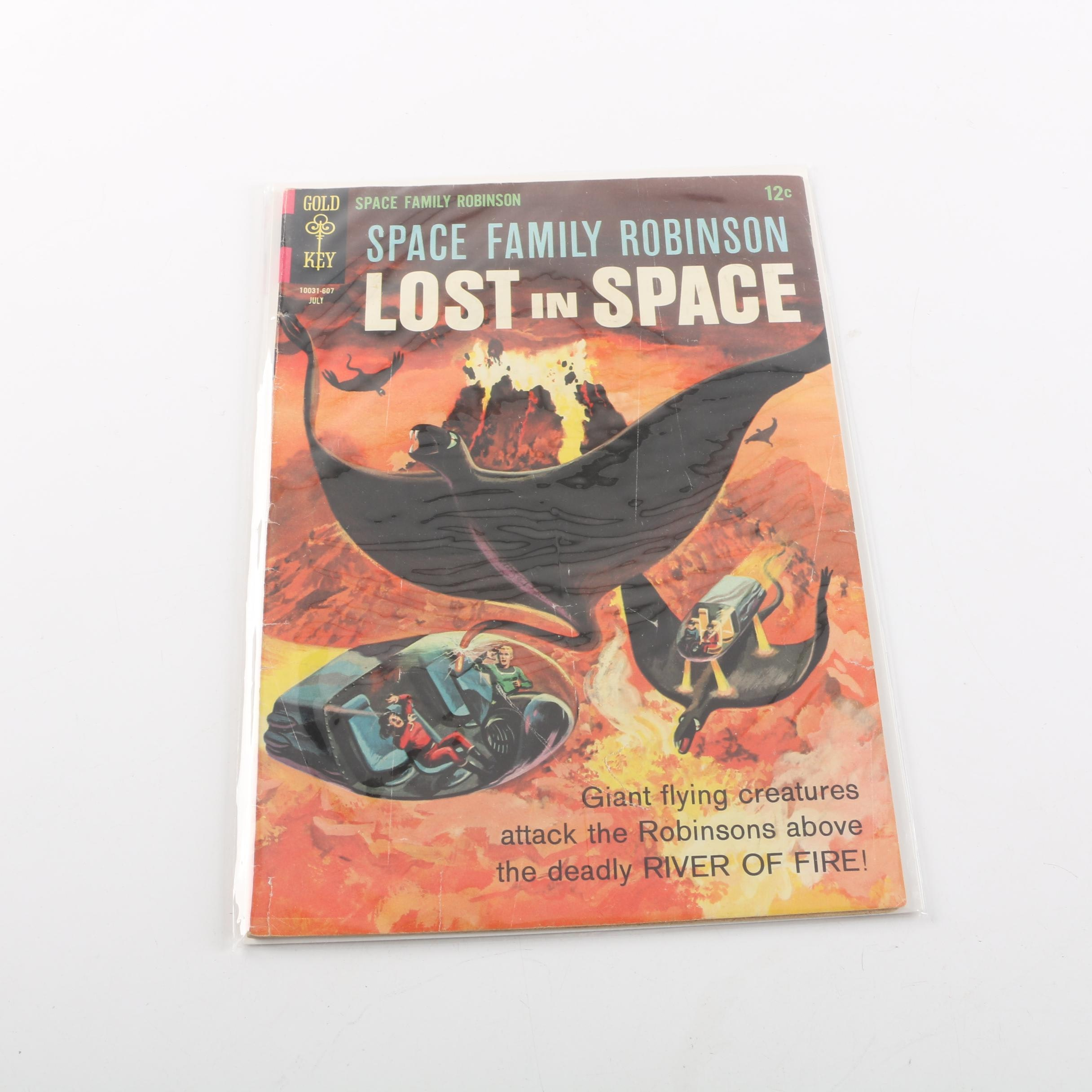 """1966 """"Space Family Robinson"""" Issue #17"""