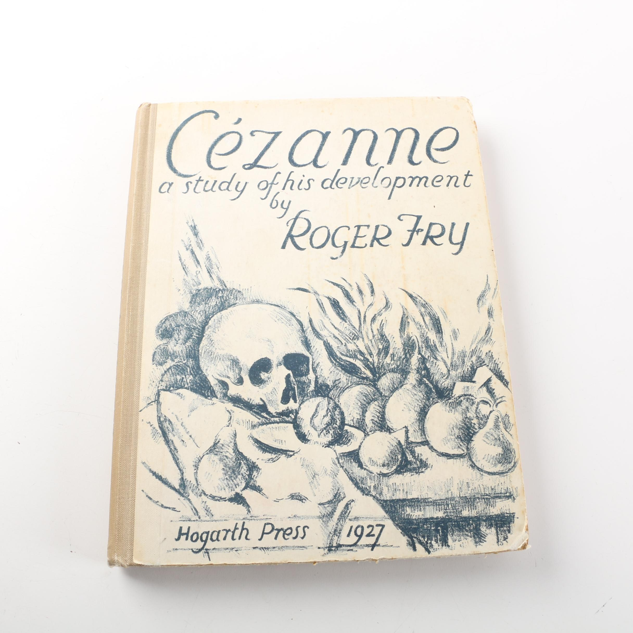 """1927 """"Cezanne: A Study of his Development"""" by Roger Fry"""