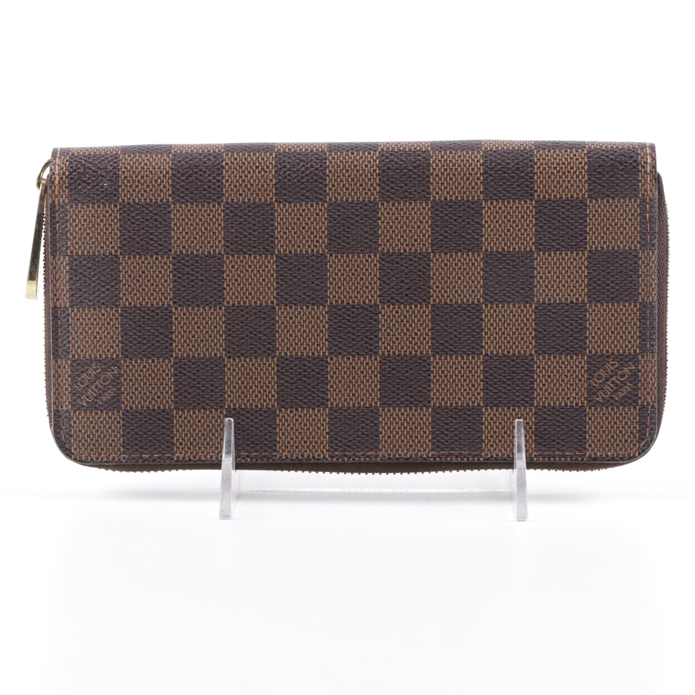 Louis Vuitton of Paris Damier Ebene Wallet