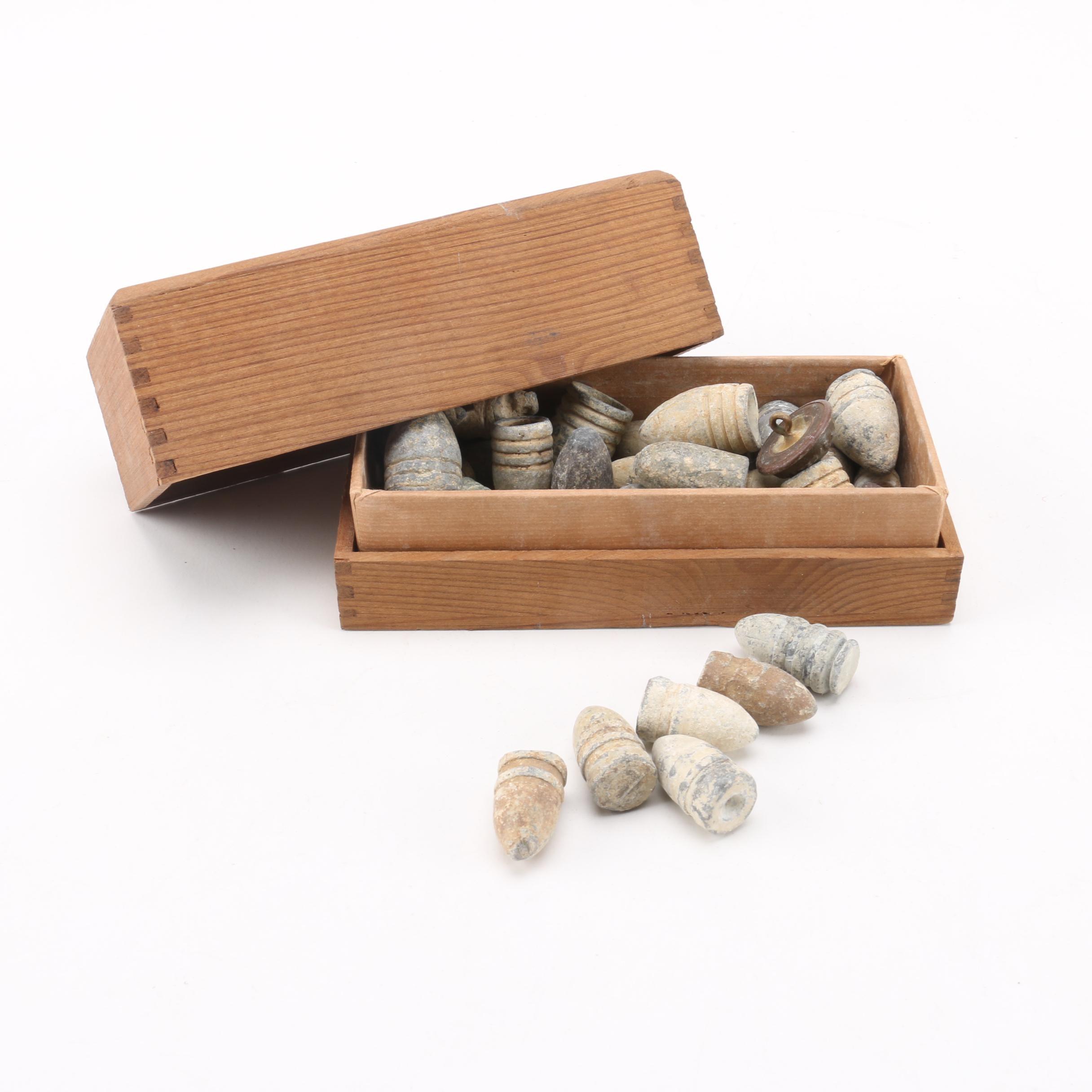 Antique Minié Ball Bullets
