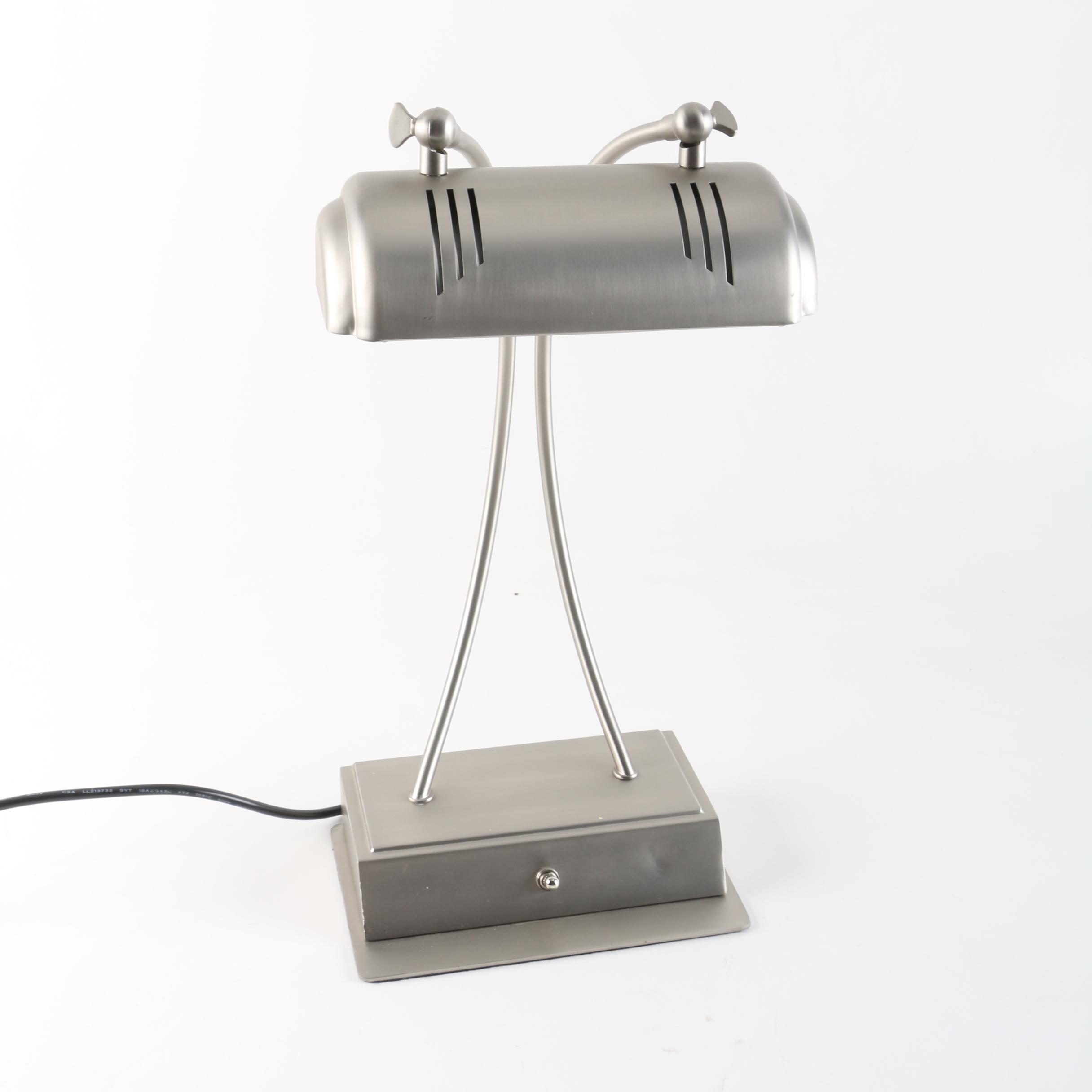 Metal Piano Lamp