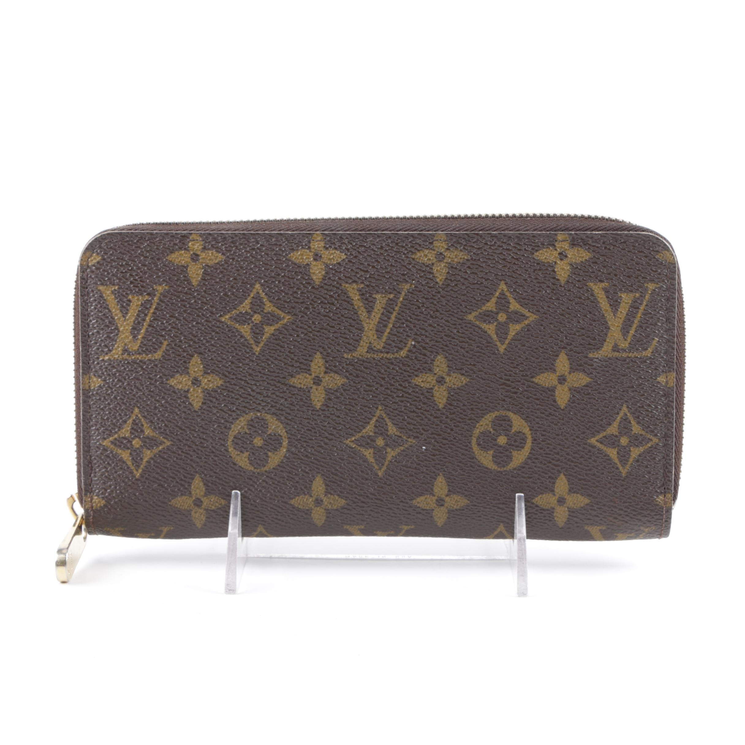 Louis Vuitton of Paris Monogram Canvas Clutch Wallet
