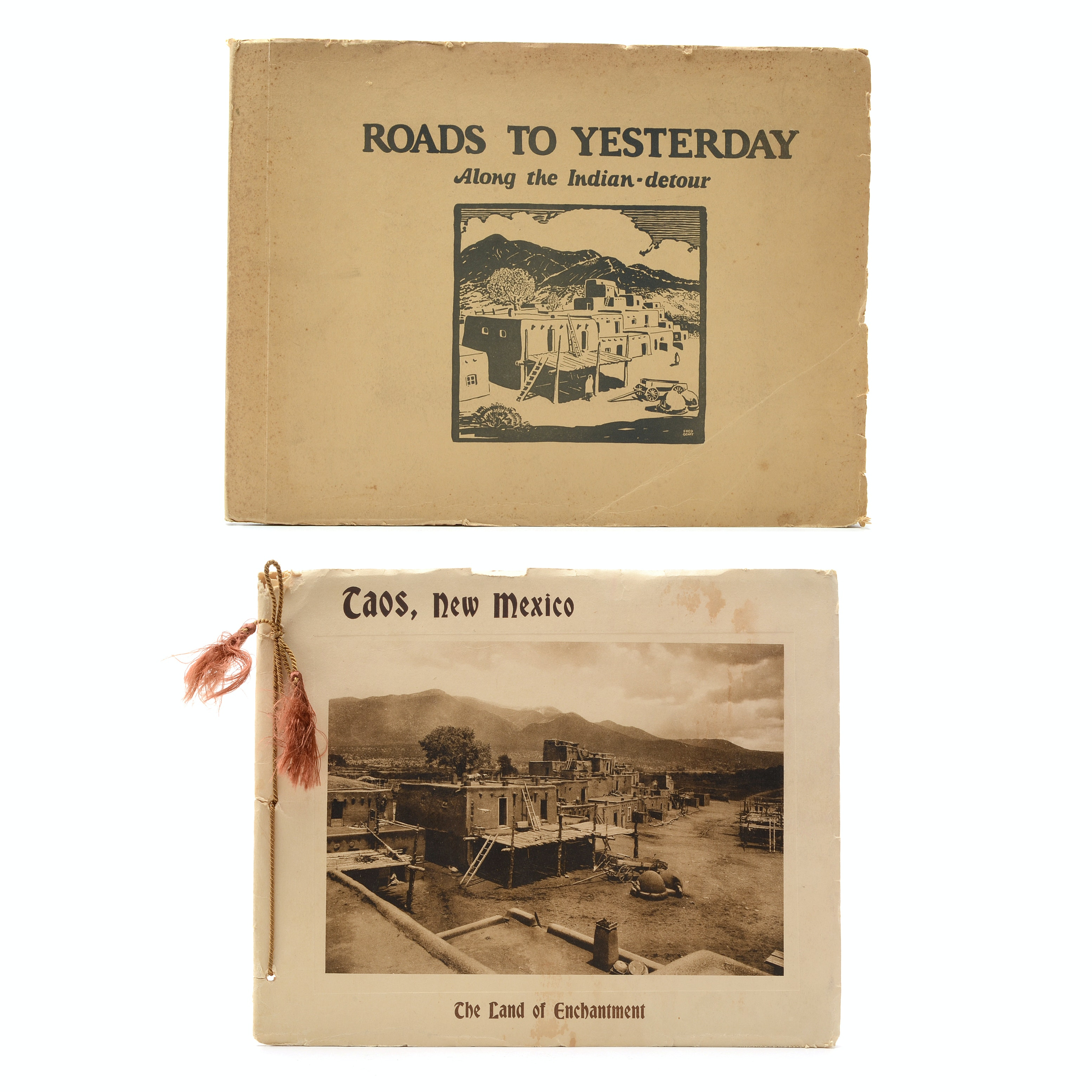 Two Early 20th Century Photogravure Pamphlets on New Mexico