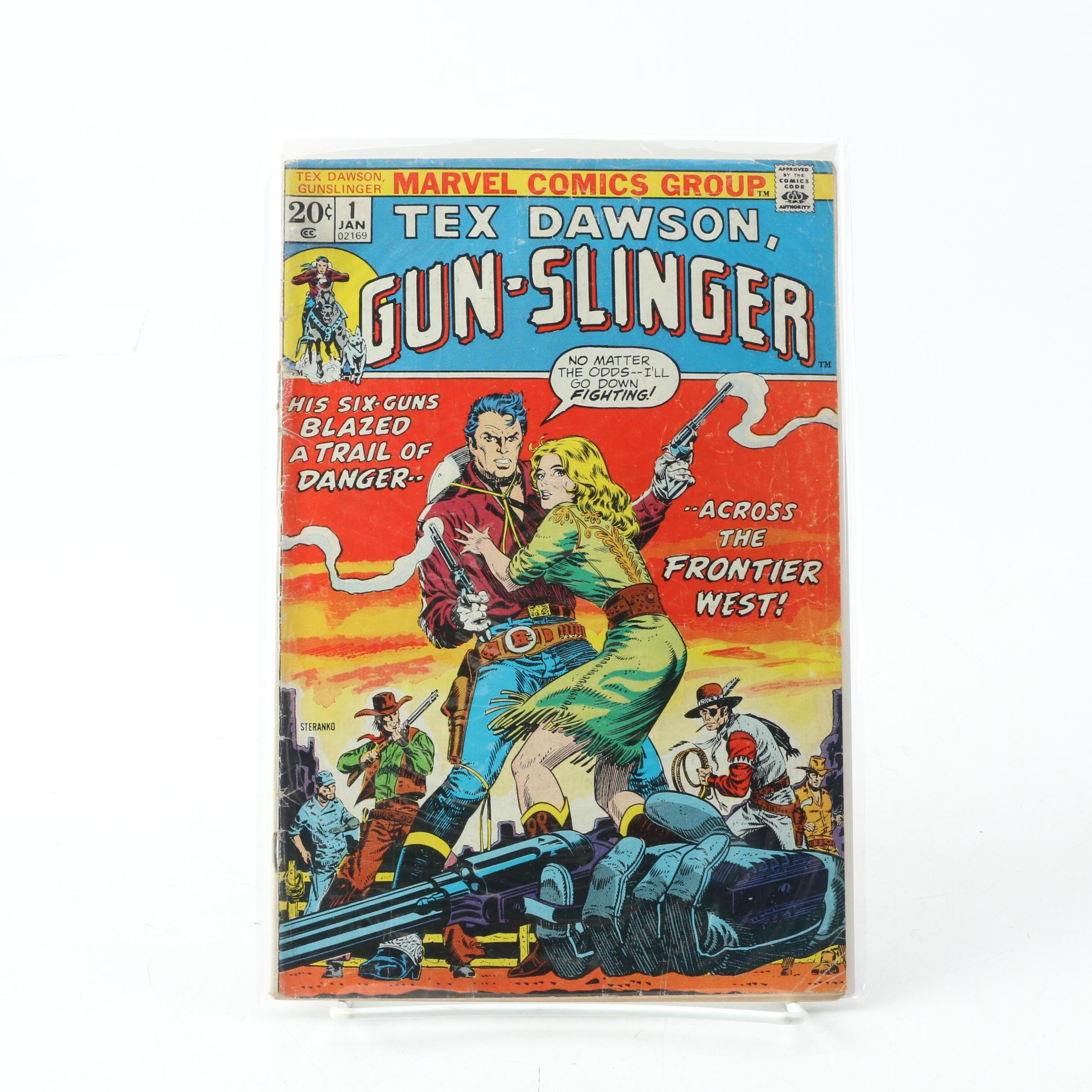 "1973 ""Tex Dawson, Gun-Slinger"" Issue #1"