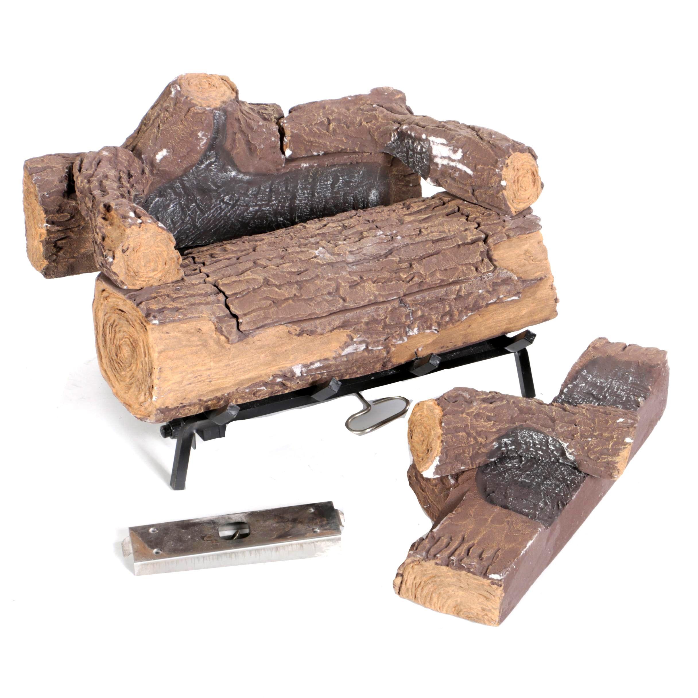 Duraflame Illuma Bio-ethanol Fireplace Burner and Log Set
