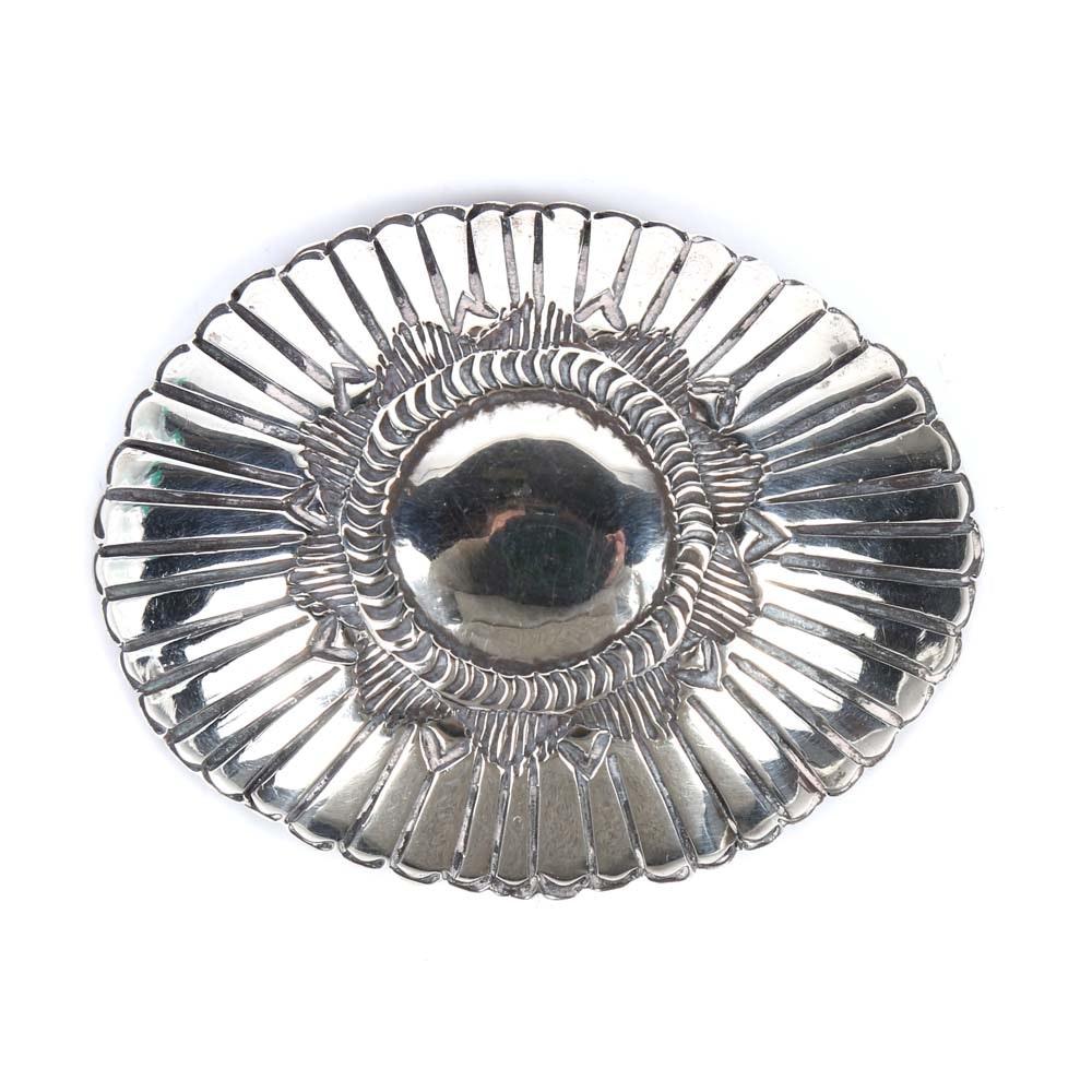 900 Silver Decorative Concho