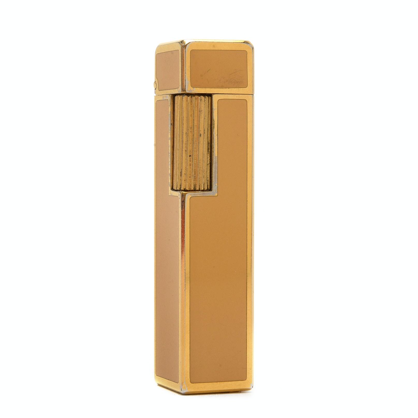 Vintage Cartier Enamel Lighter