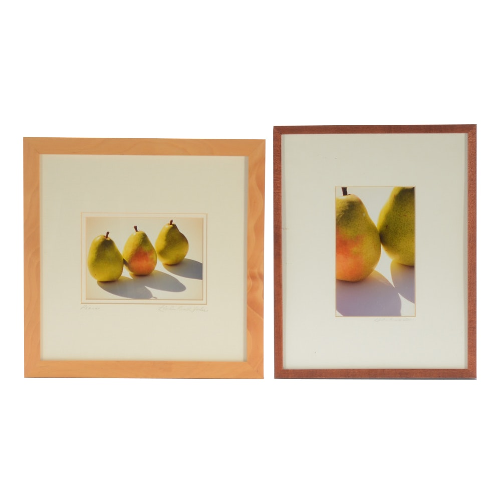Linda Revell Yoder Two Photographs of Pears