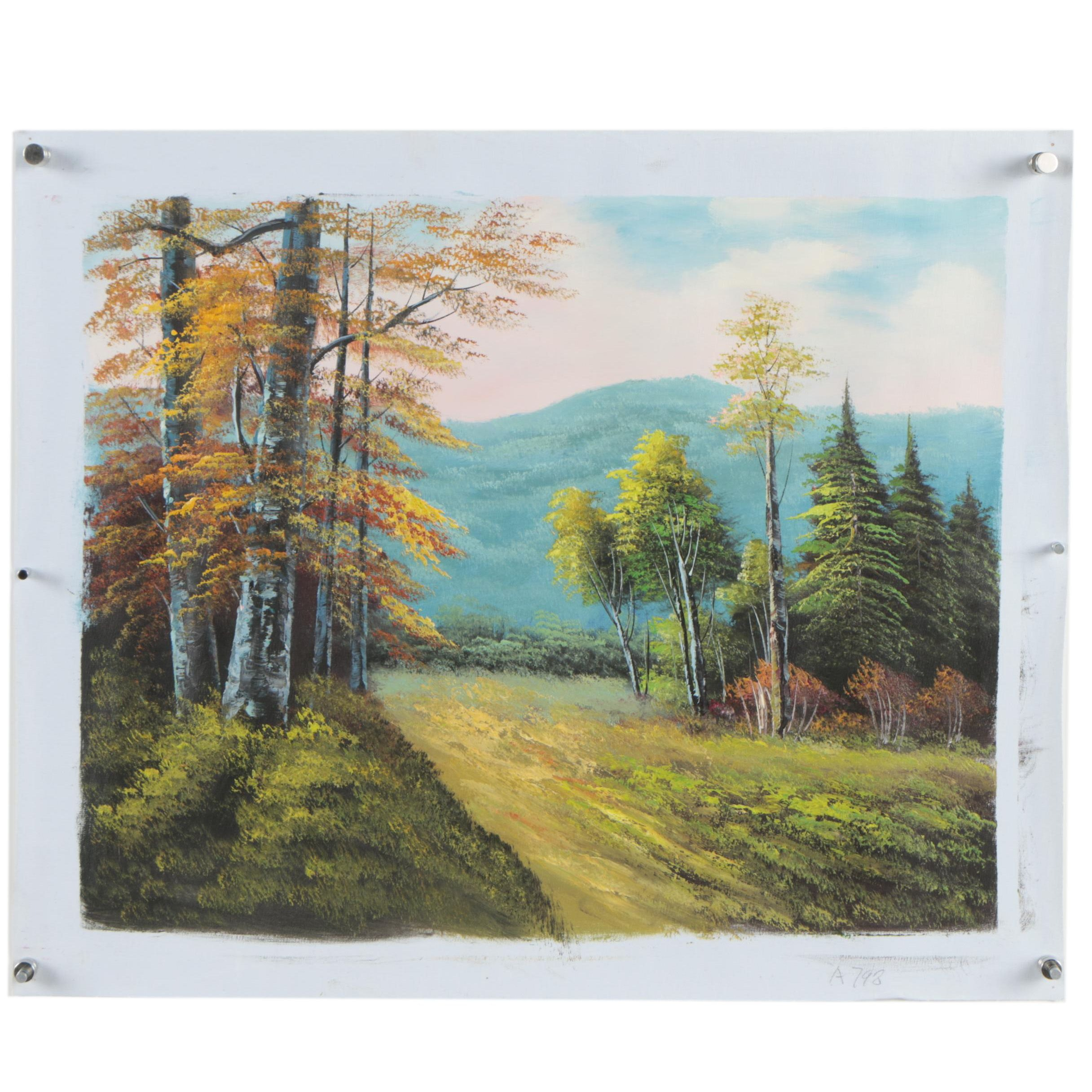 Oil Landscape Painting