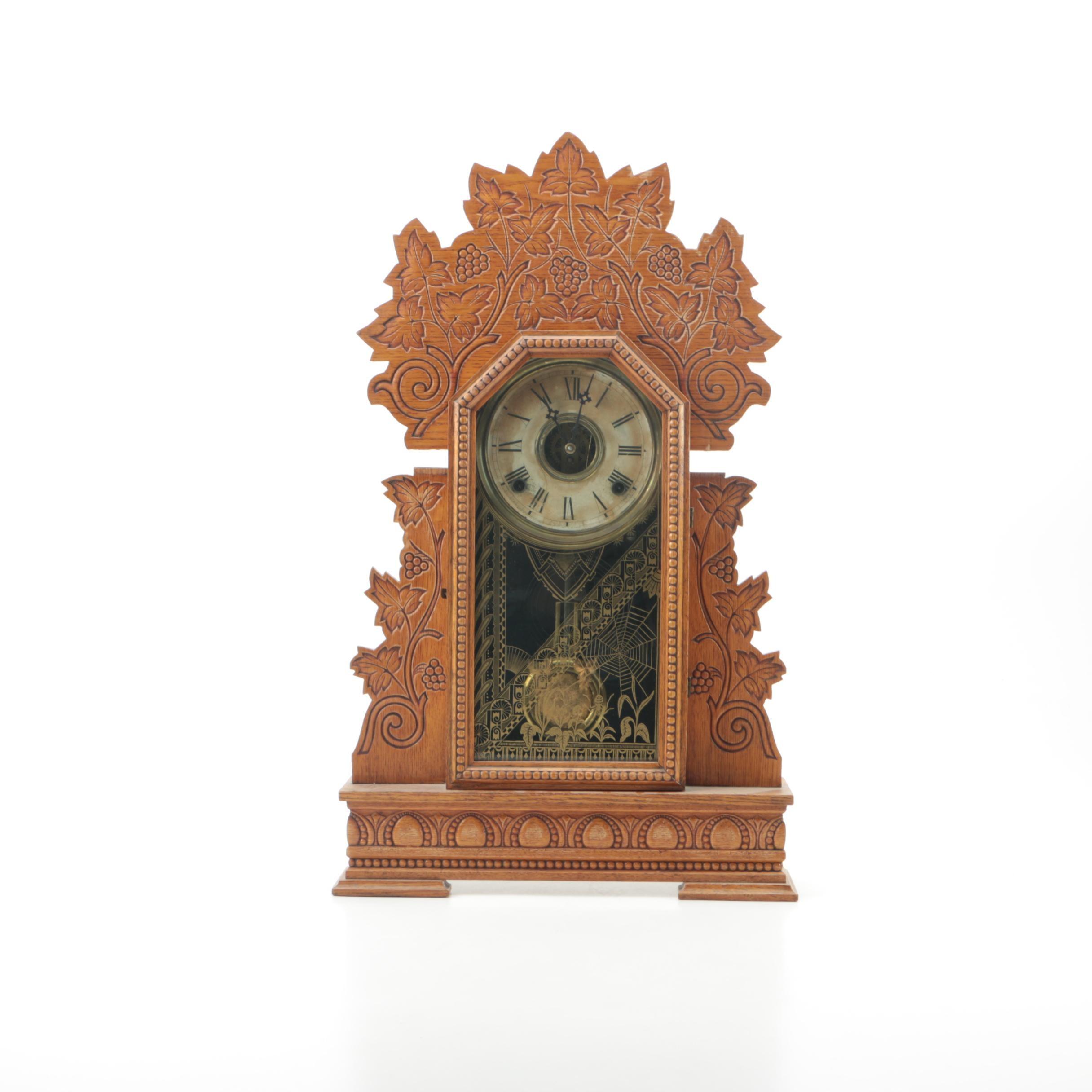 "Antique ""Concord"" Mantel Clock By Wm. L. Gilbert Clock Co."