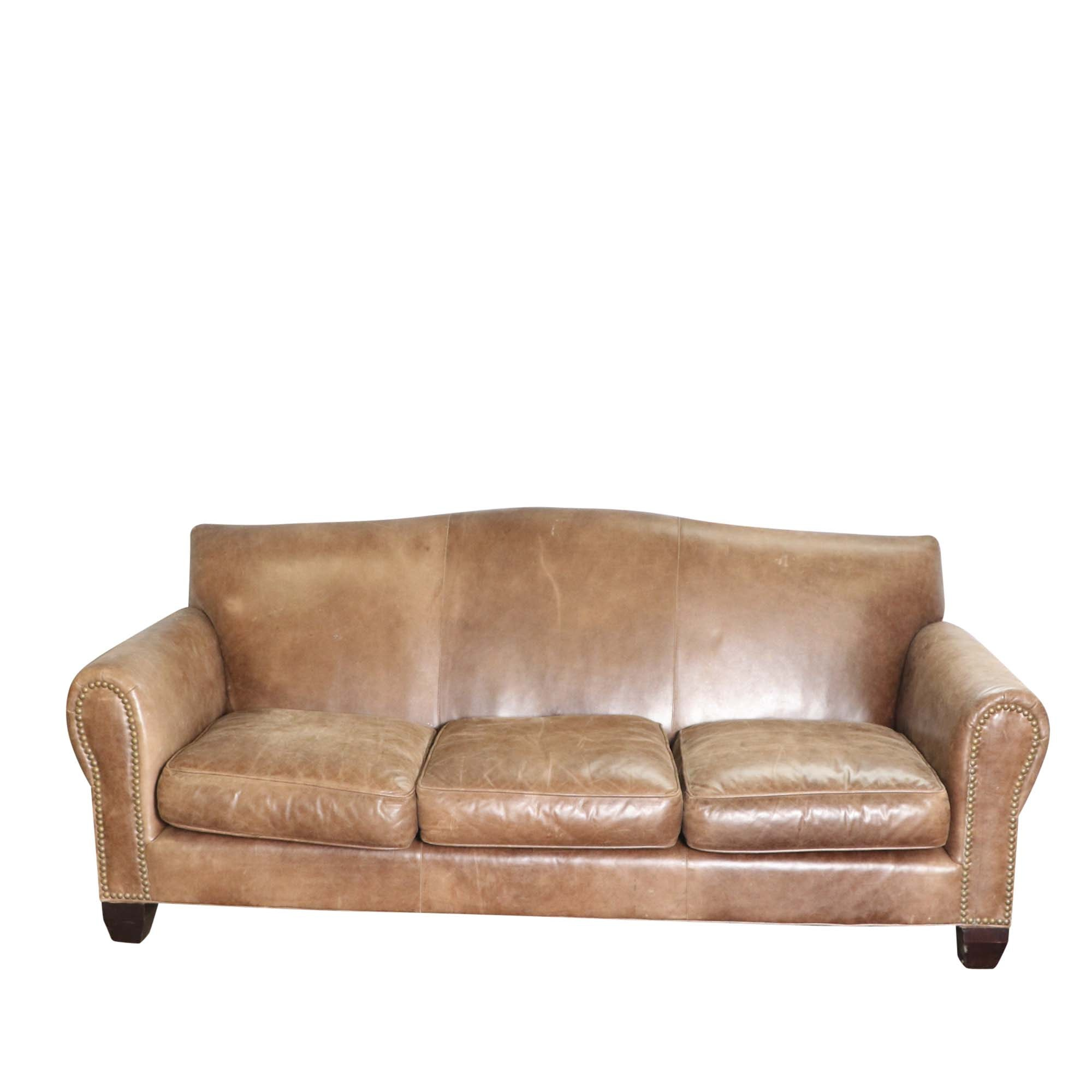 Leather Sofa By Old Hickory Tannery ...