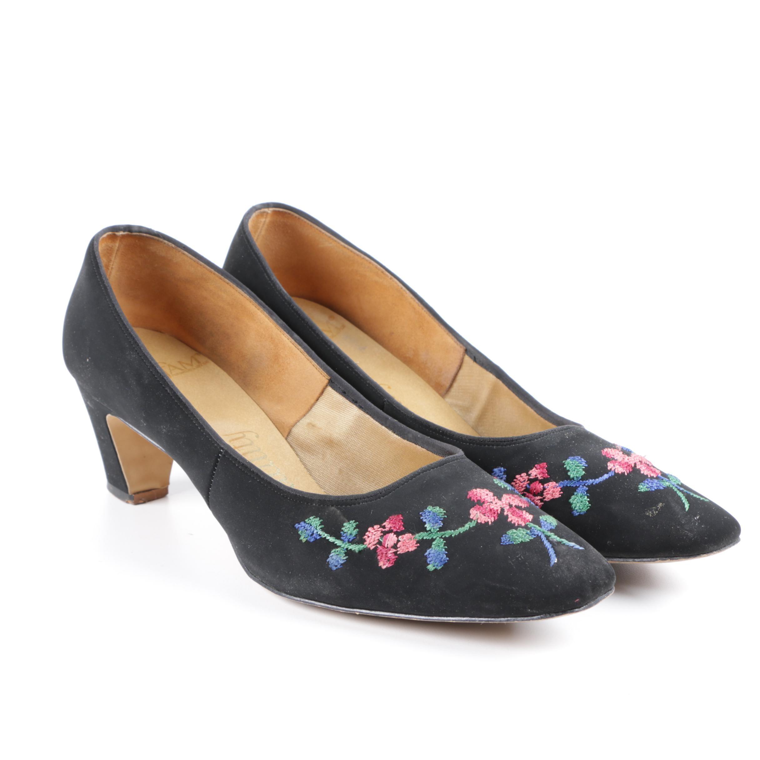 Women's Vintage Embellished High Heels
