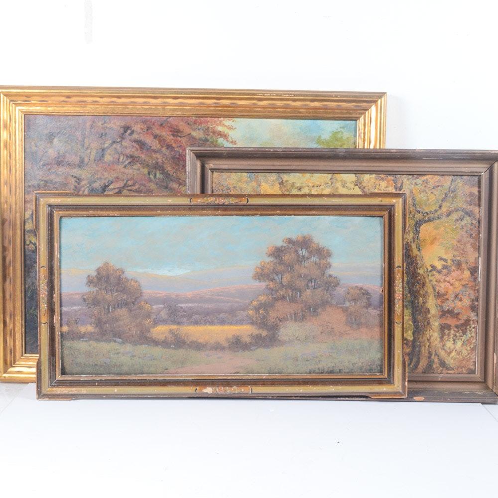 Original Works of Autumn Landscapes