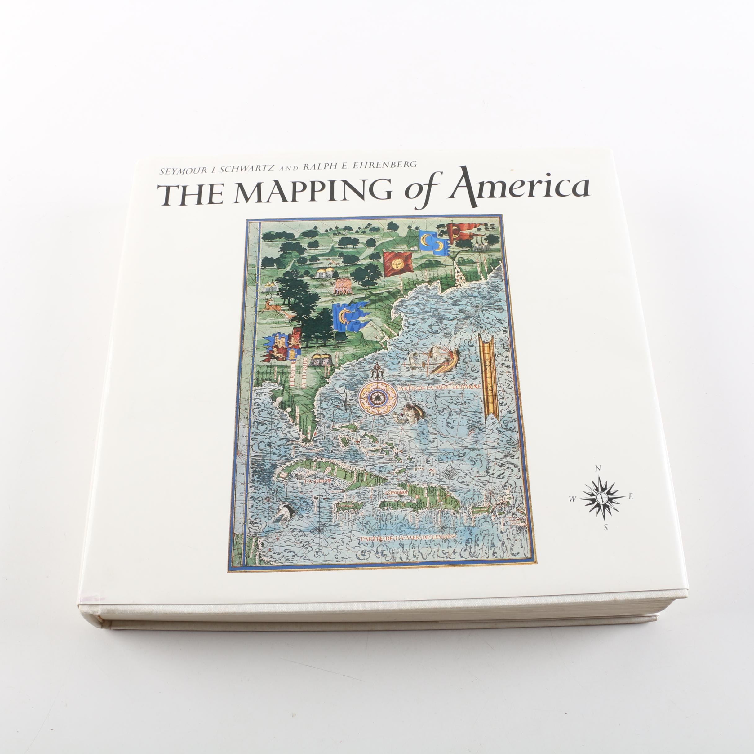 """1980 """"The Mapping of America"""" by Schwartz and Ehrenberg"""