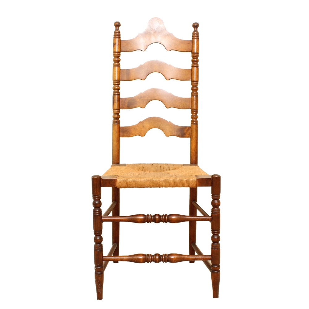 Colonial Style Ladder Back Chair