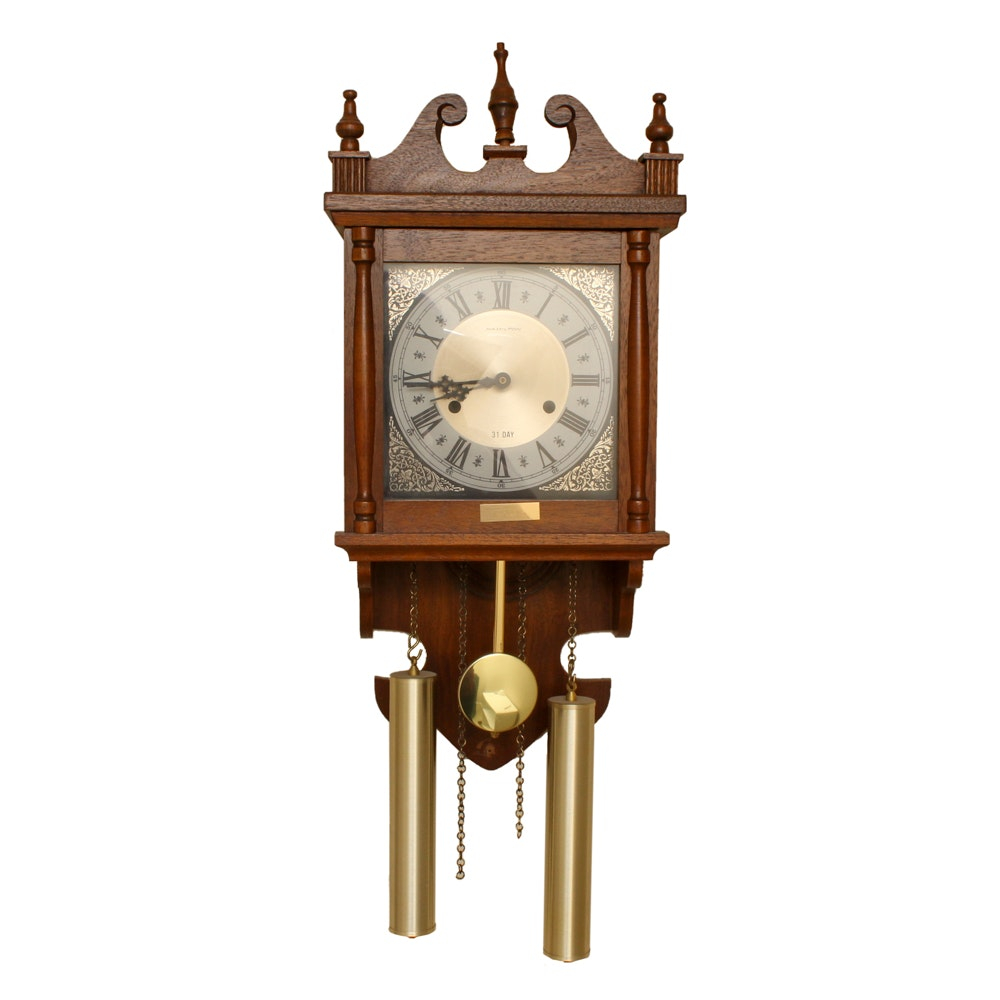 Hamilton 31 Day Wall Clock with Pendulum