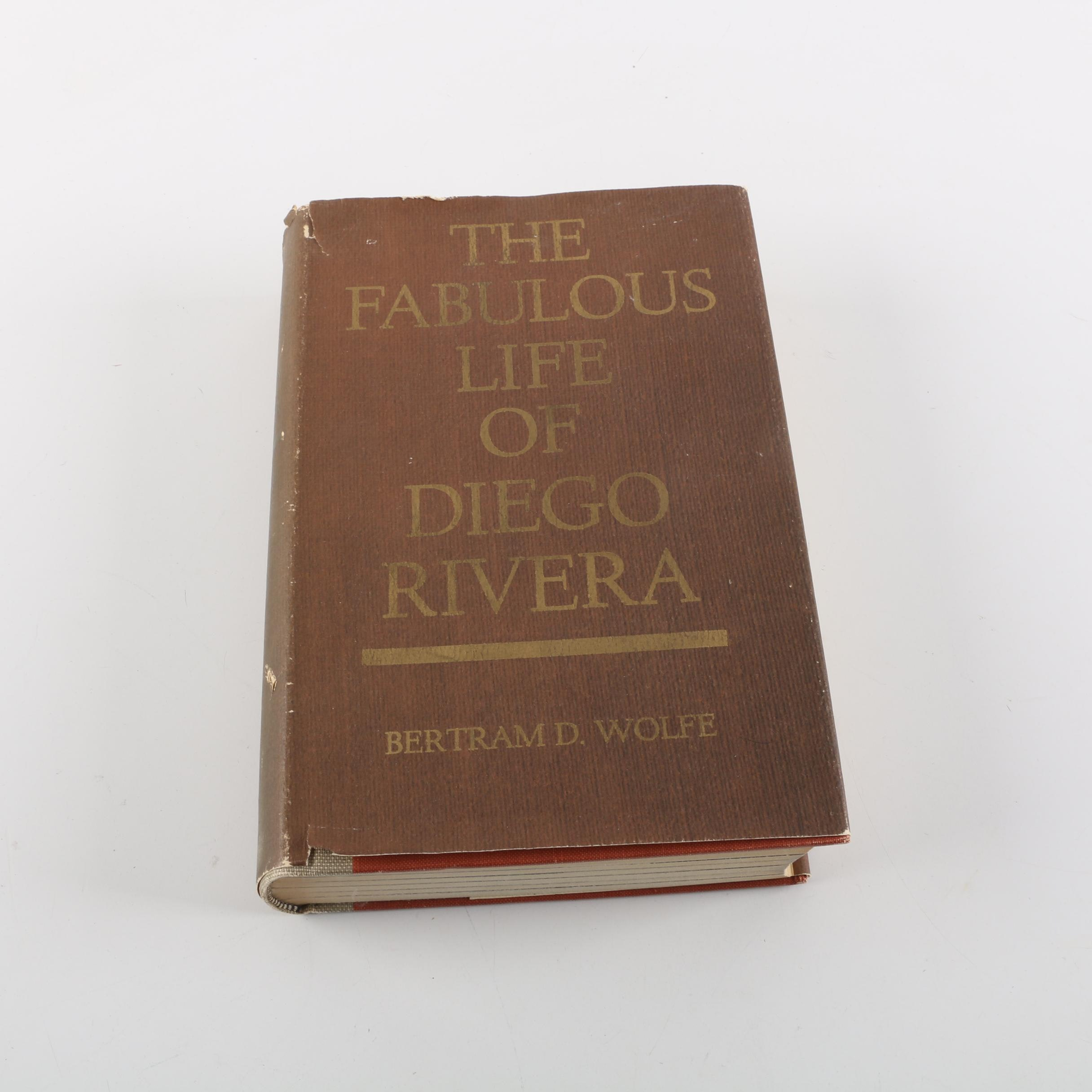 "1963 ""The Fabulous Life of Diego Rivera"" by Bertram R. Wolfe, scarce"