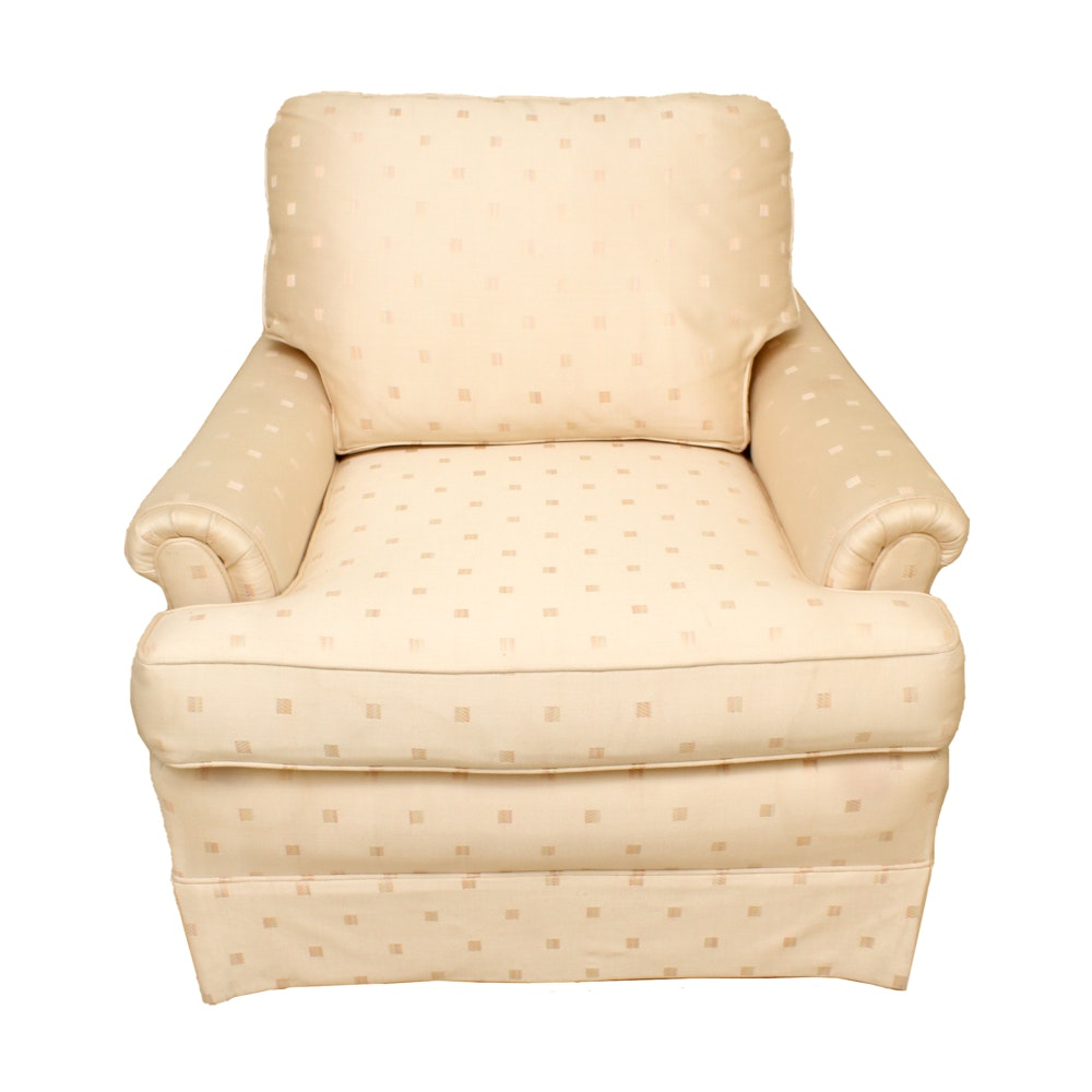 Vintage Upholstered Armchair By Hickory Tavern ...