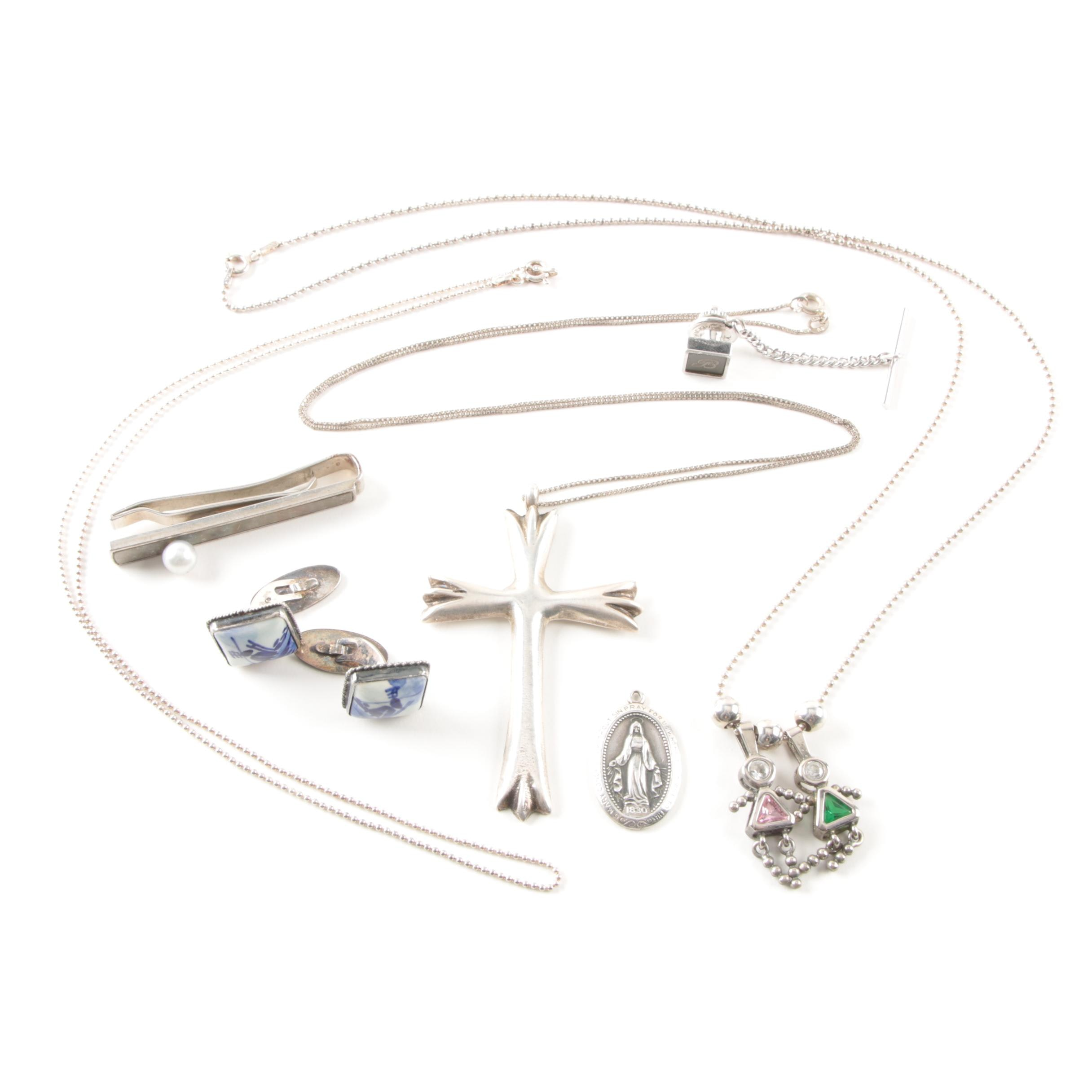 Sterling Silver Jewelry with Accents