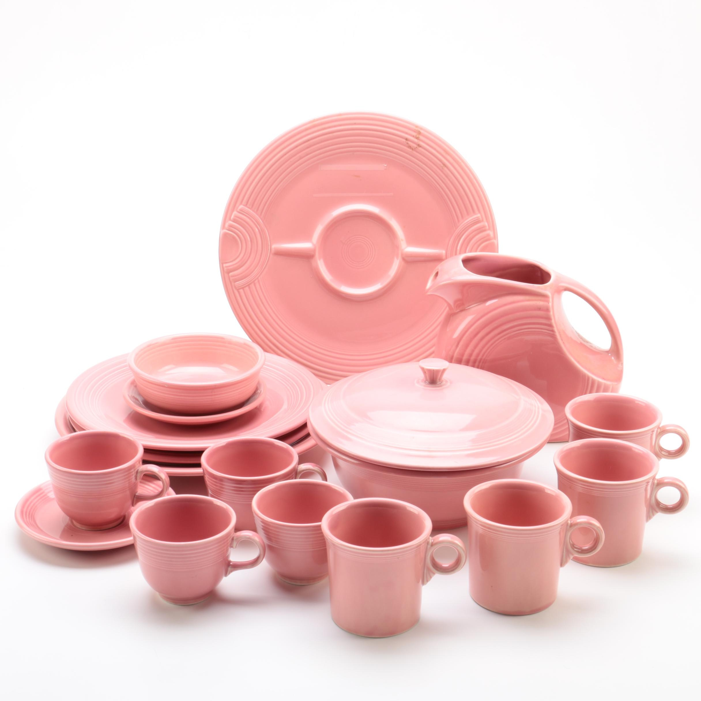 "Fiesta Ware ""Flamingo Pink"" Tableware"