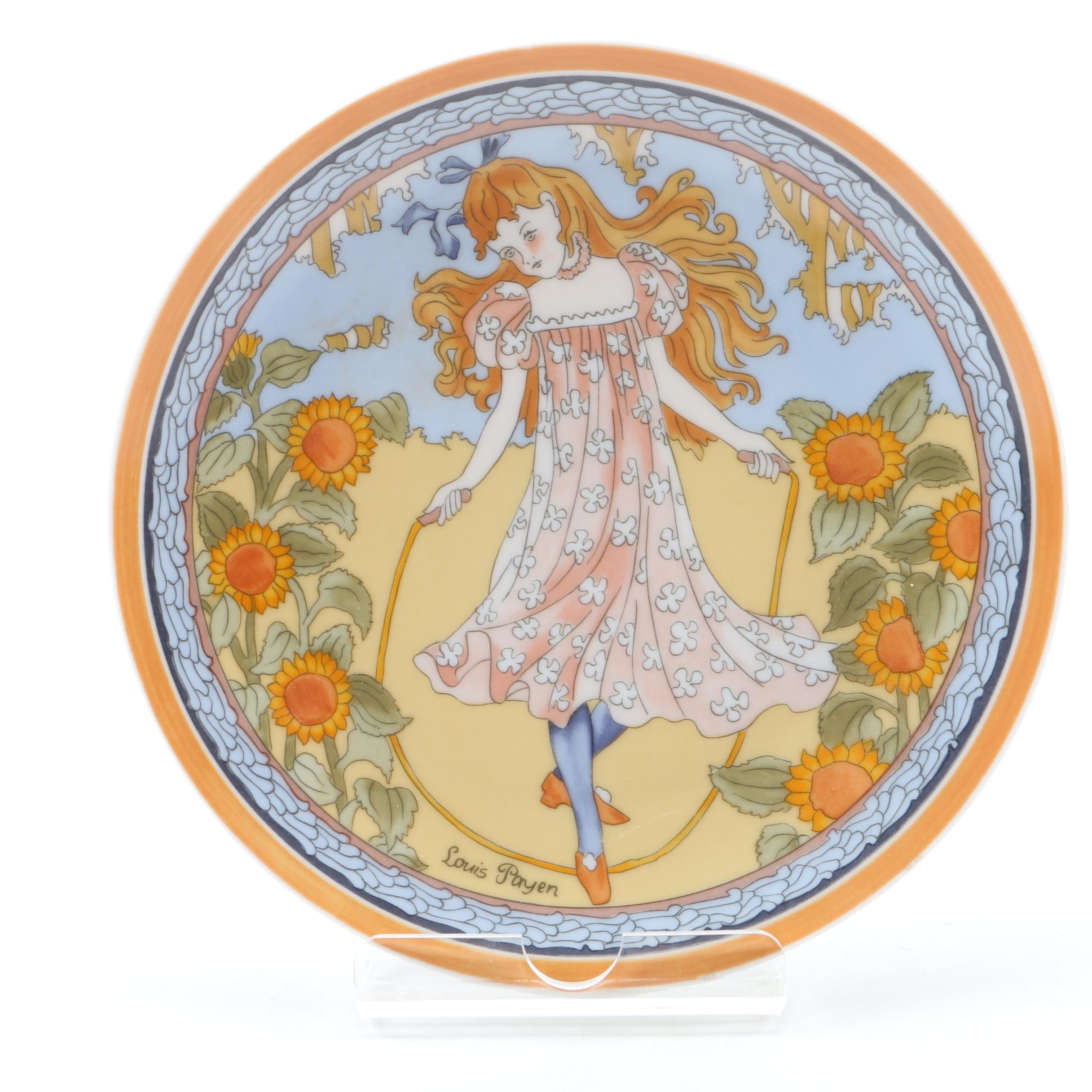 """Vintage UNICEF """"Children of the World"""" Collectible Plate"""