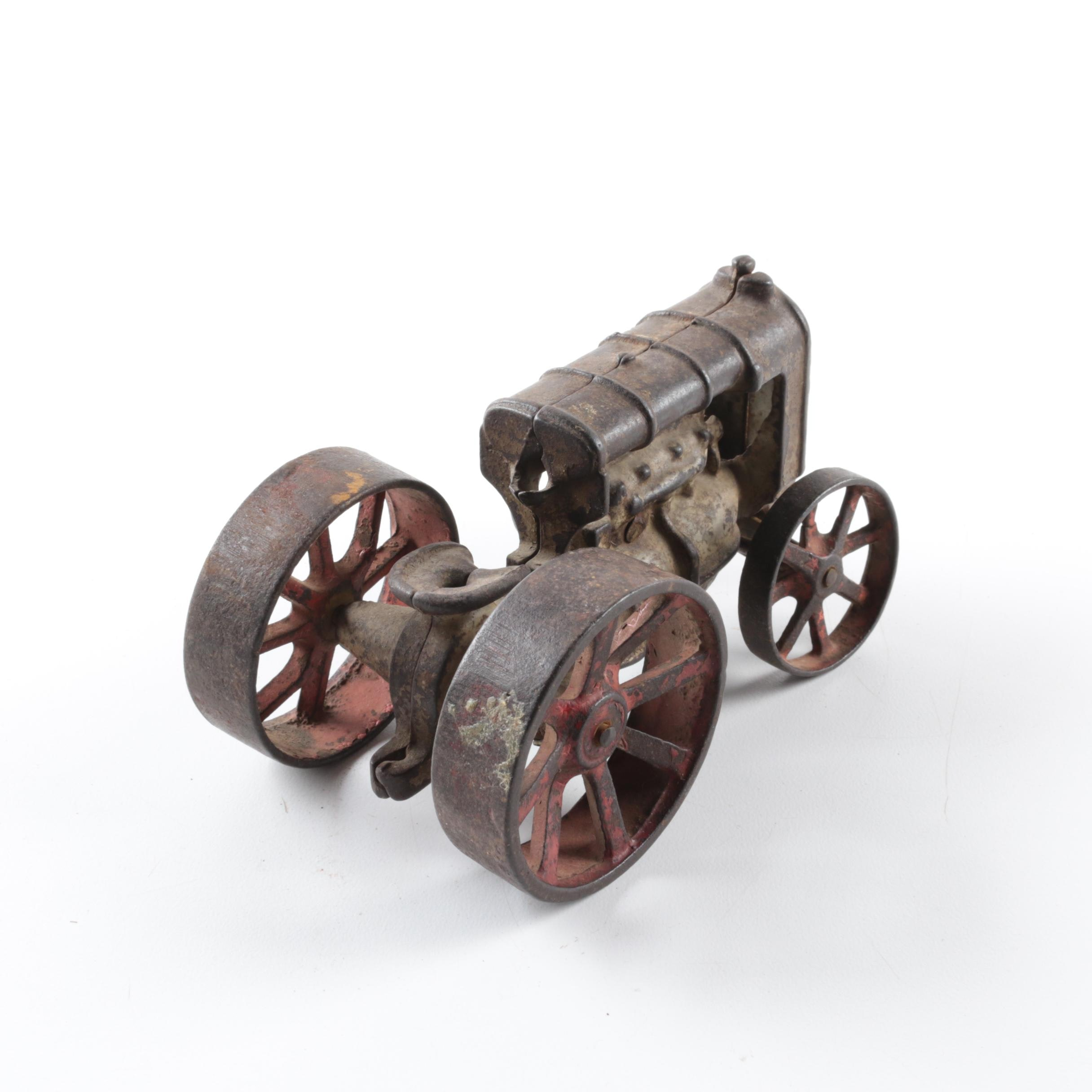 Antique Fordson Cast Iron Tractor by Arcade