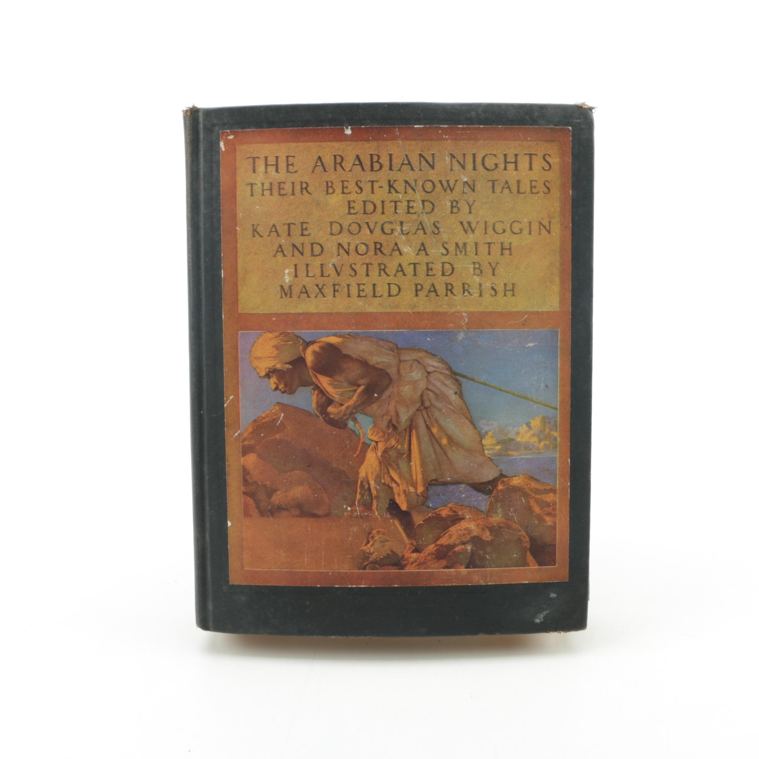 """1935 """"The Arabian Nights"""" Illustrated by Maxfield Parrish"""