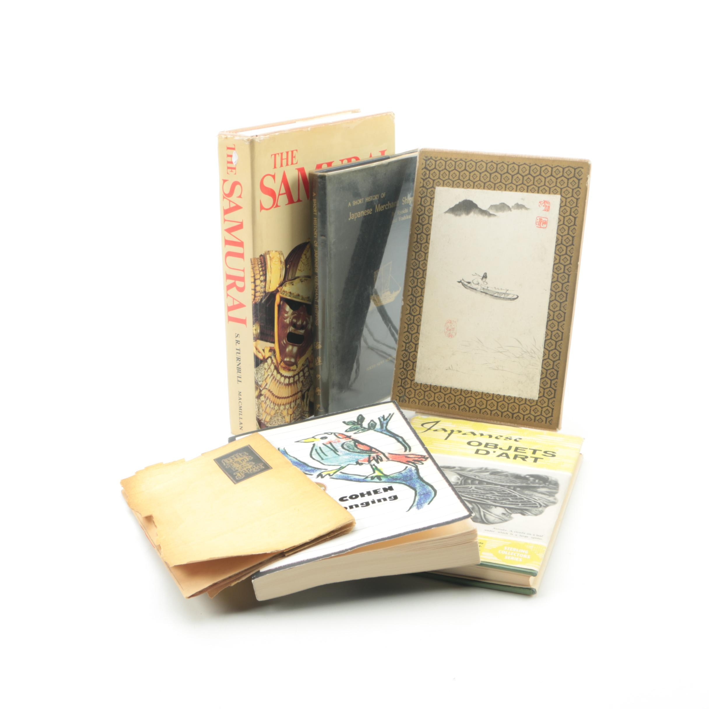 """1925 Limited Edition """"Little Poems from the Japanese"""" and Other Books"""