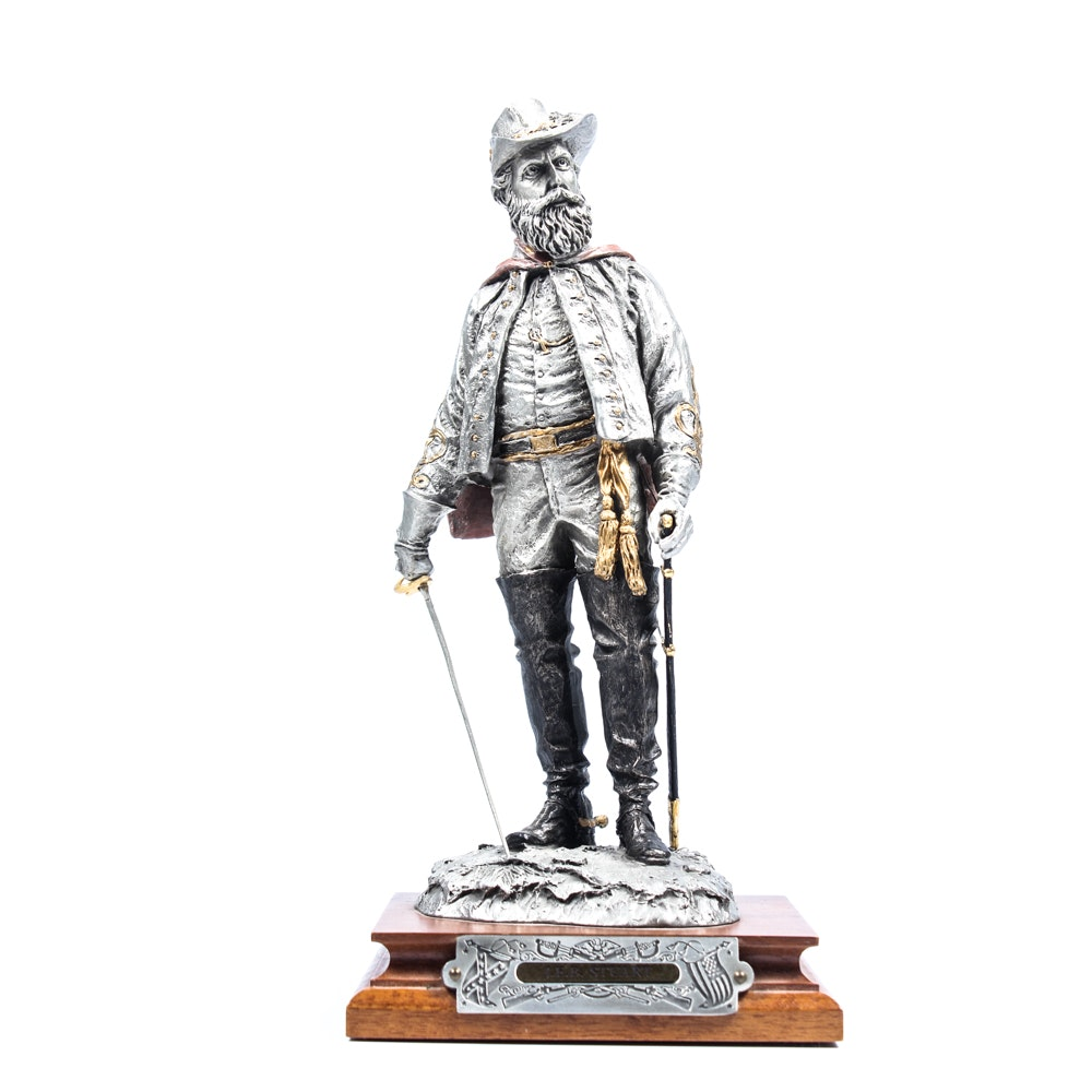 Frances Barnum Limited Edition Sculpture of J.E.B. Stuart