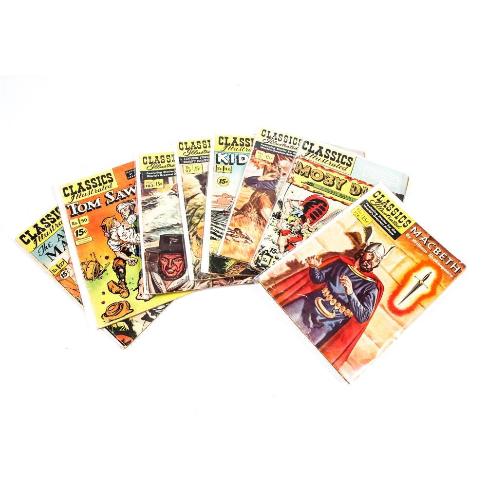 "Golden Age ""Classics Illustrated"" Comic Books"