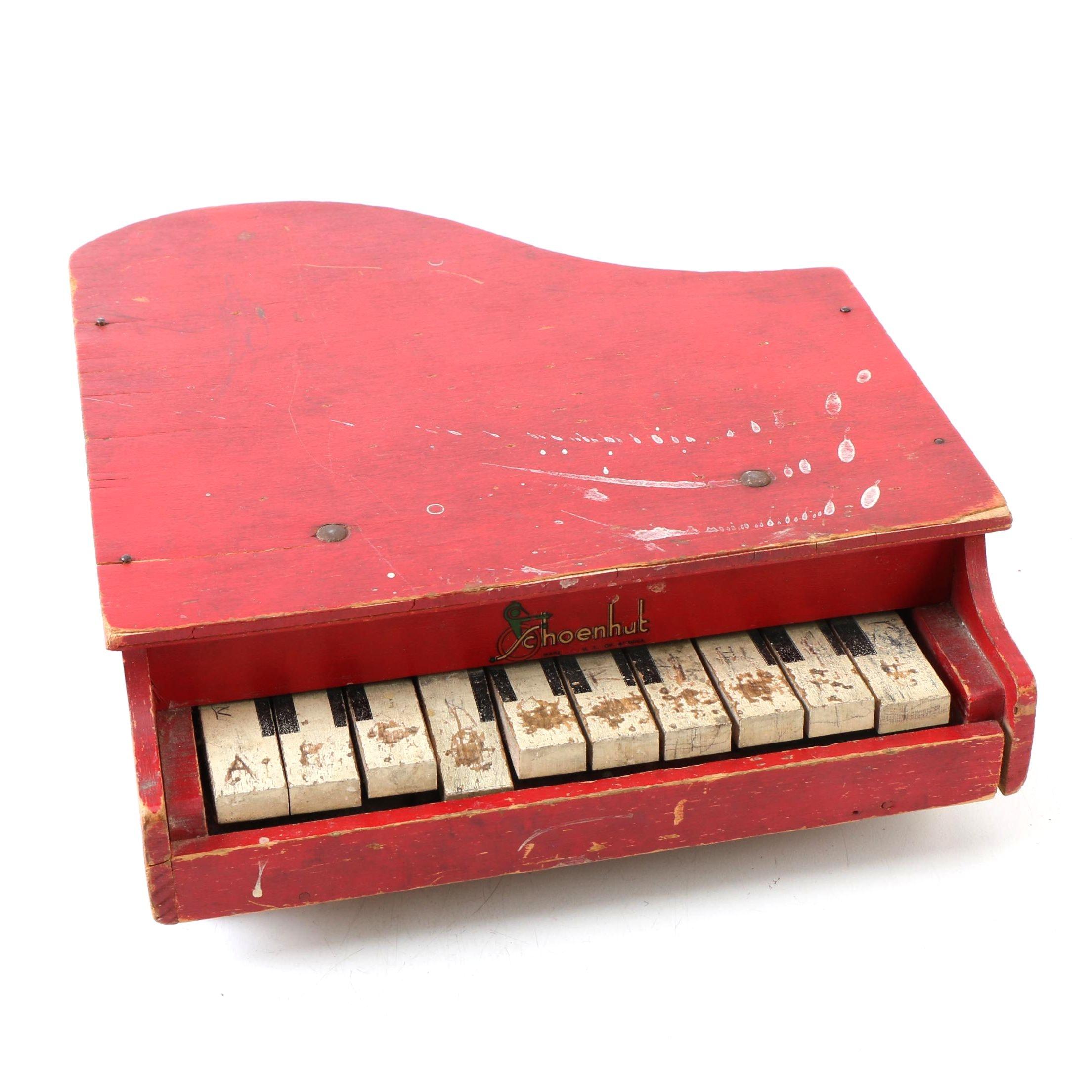 Vintage Schoenhut Chldren's Piano