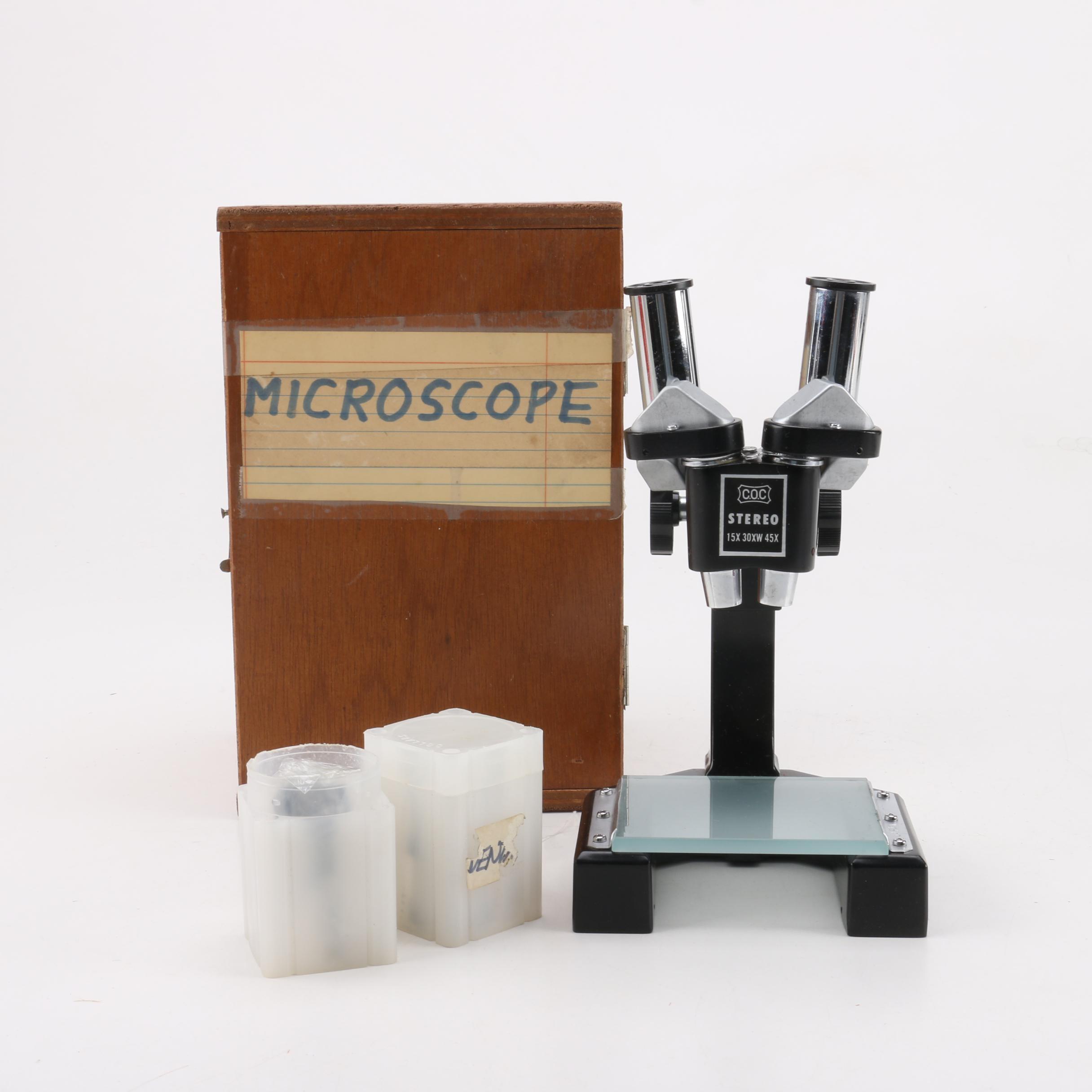 C.O.C. Binocular Microscope
