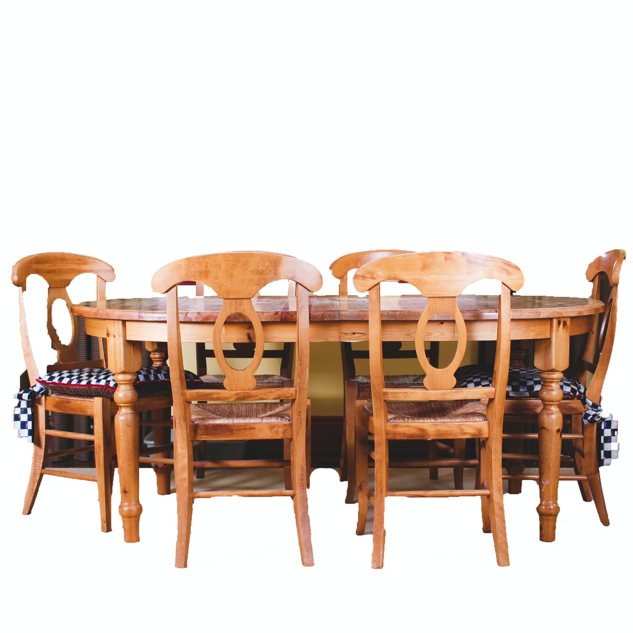 Pottery Barn Dining Table and Side Chairs