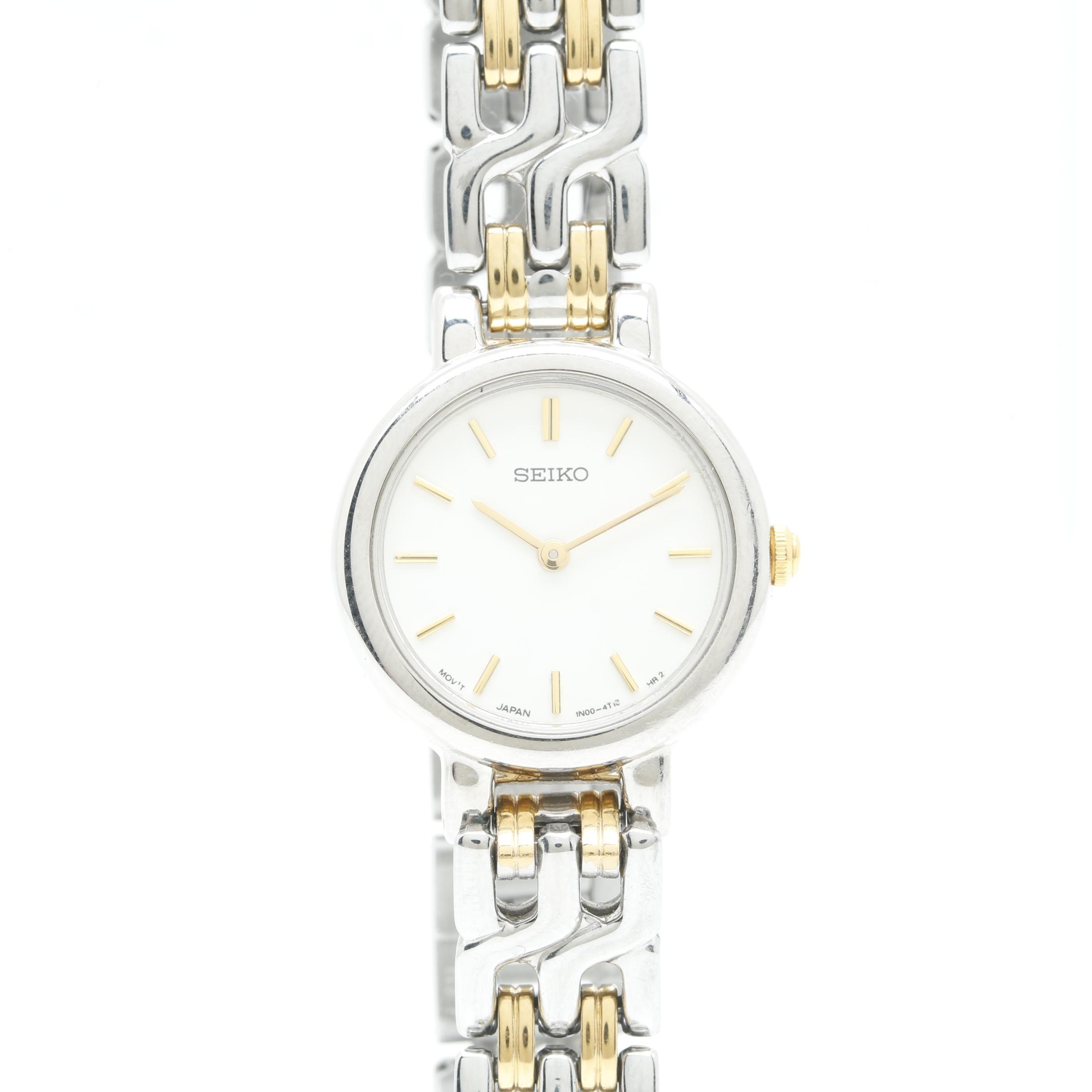 Seiko Two Tone Wristwatch