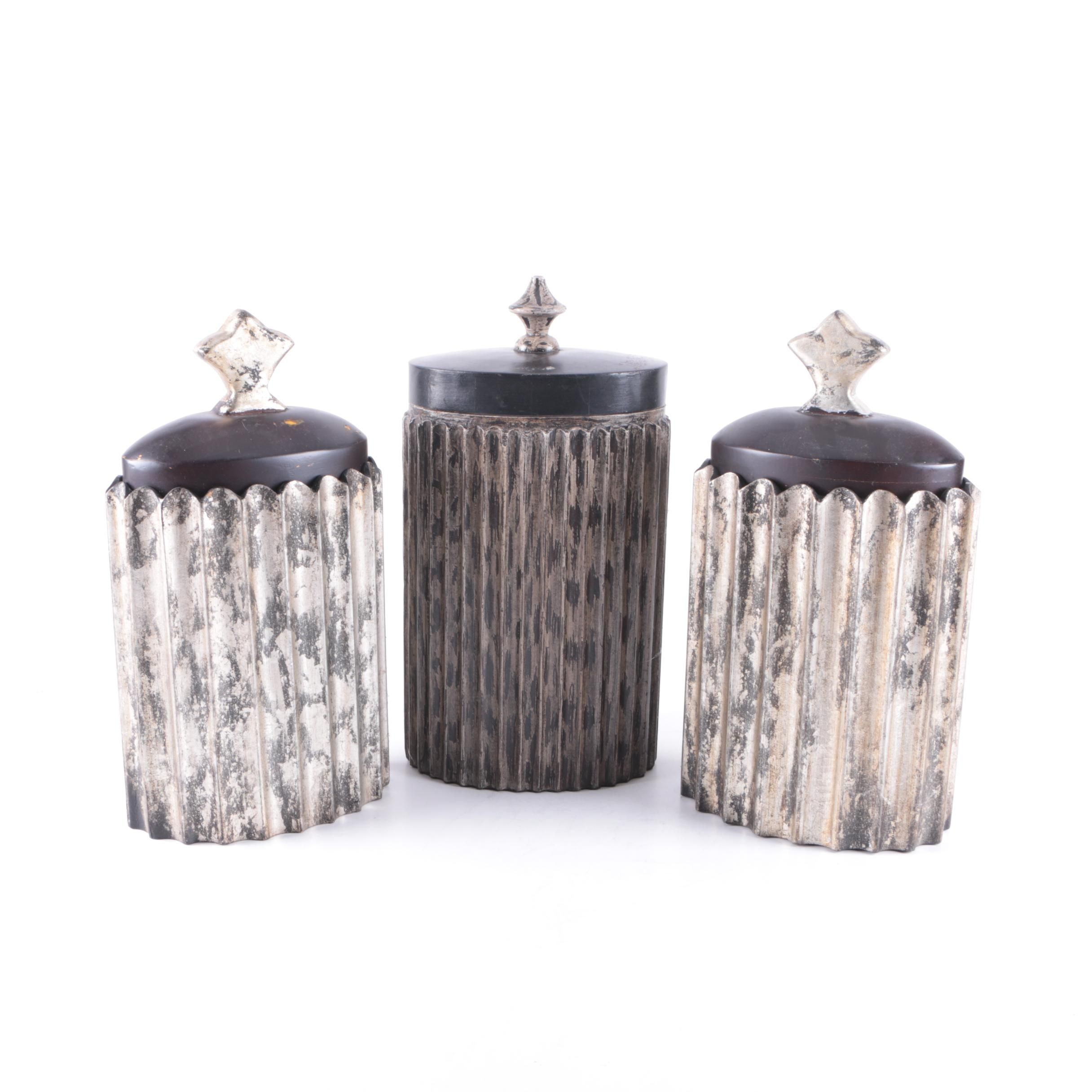 Collection of Decorative Canisters