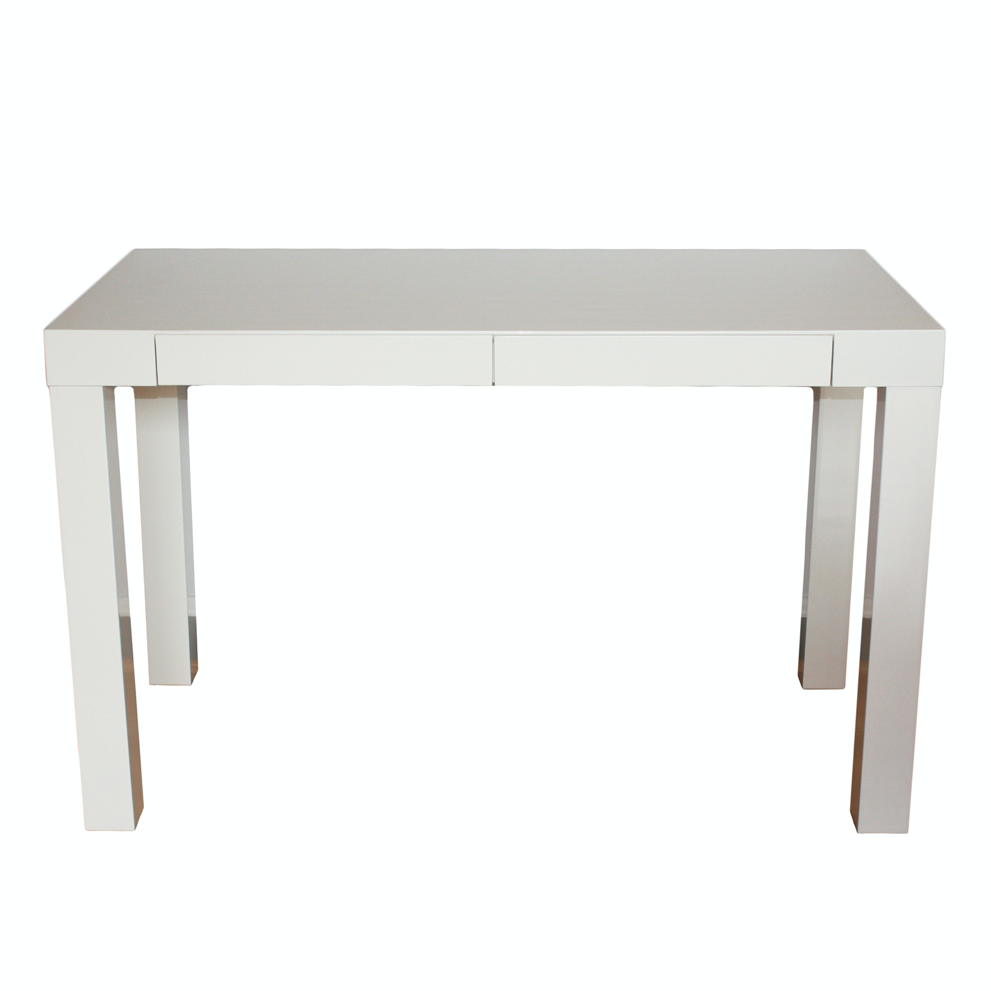 Great West Elm Modern Parsons Desk ... Amazing Design